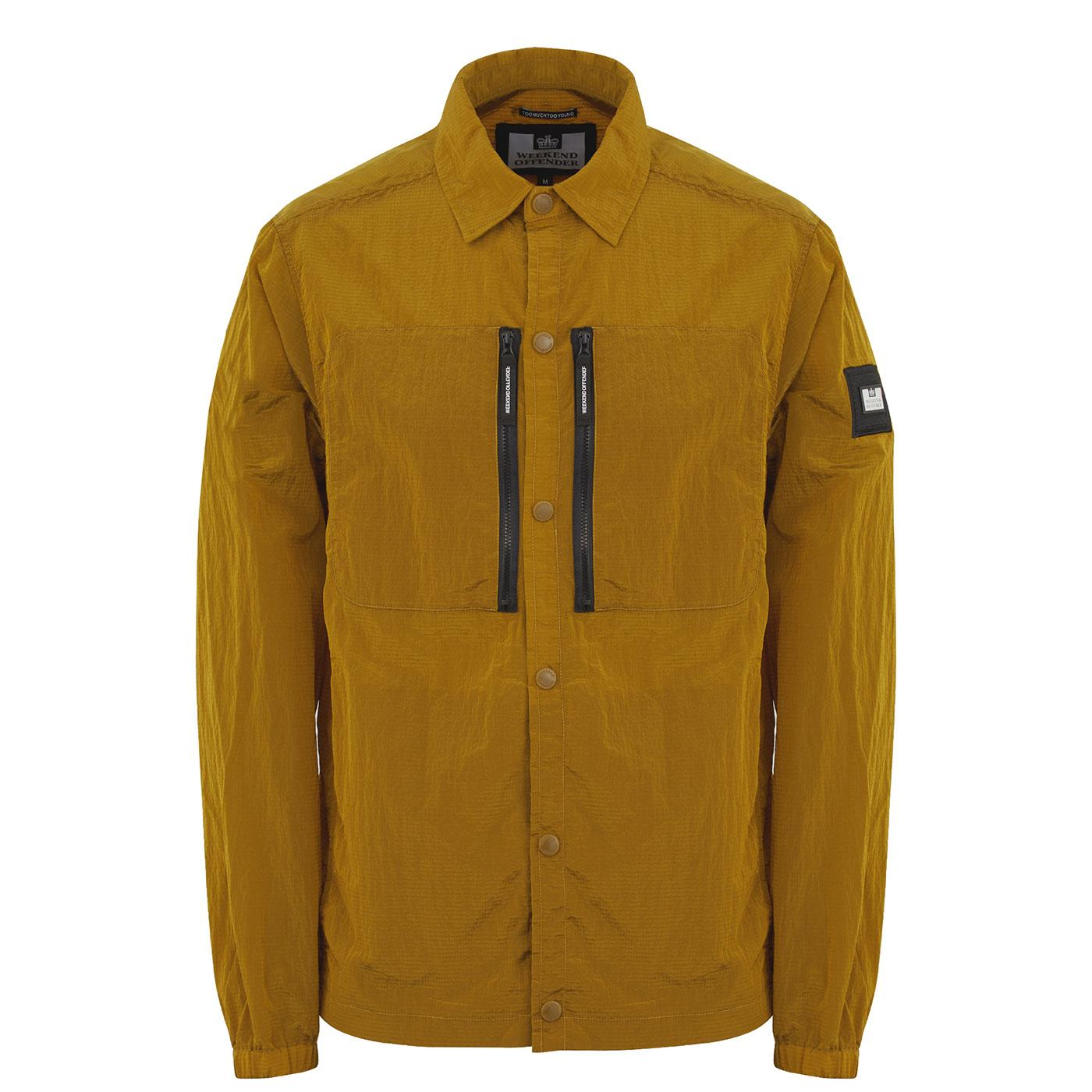 Nickey Eyes WEEKEND OFFENDER Rip-Stop Overshirt G