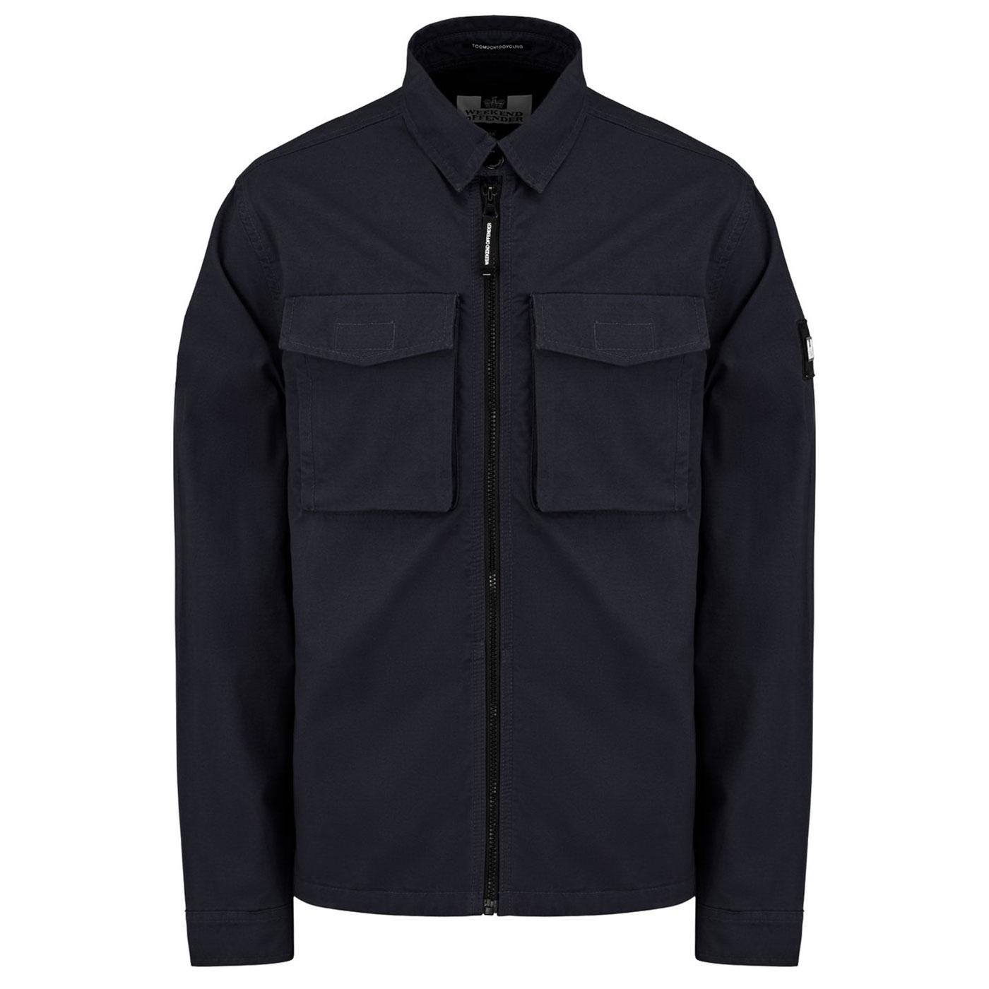 Pileggi WEEKEND OFFENDER Military Overshirt Jacket