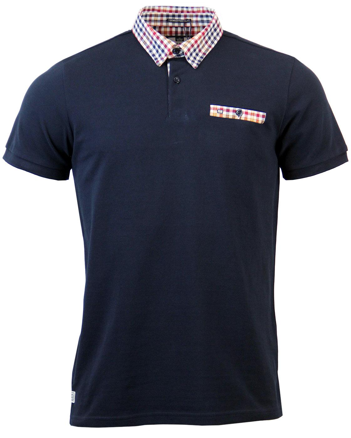 Baron WEEKEND OFFENDER Mod Shirting Collar Polo
