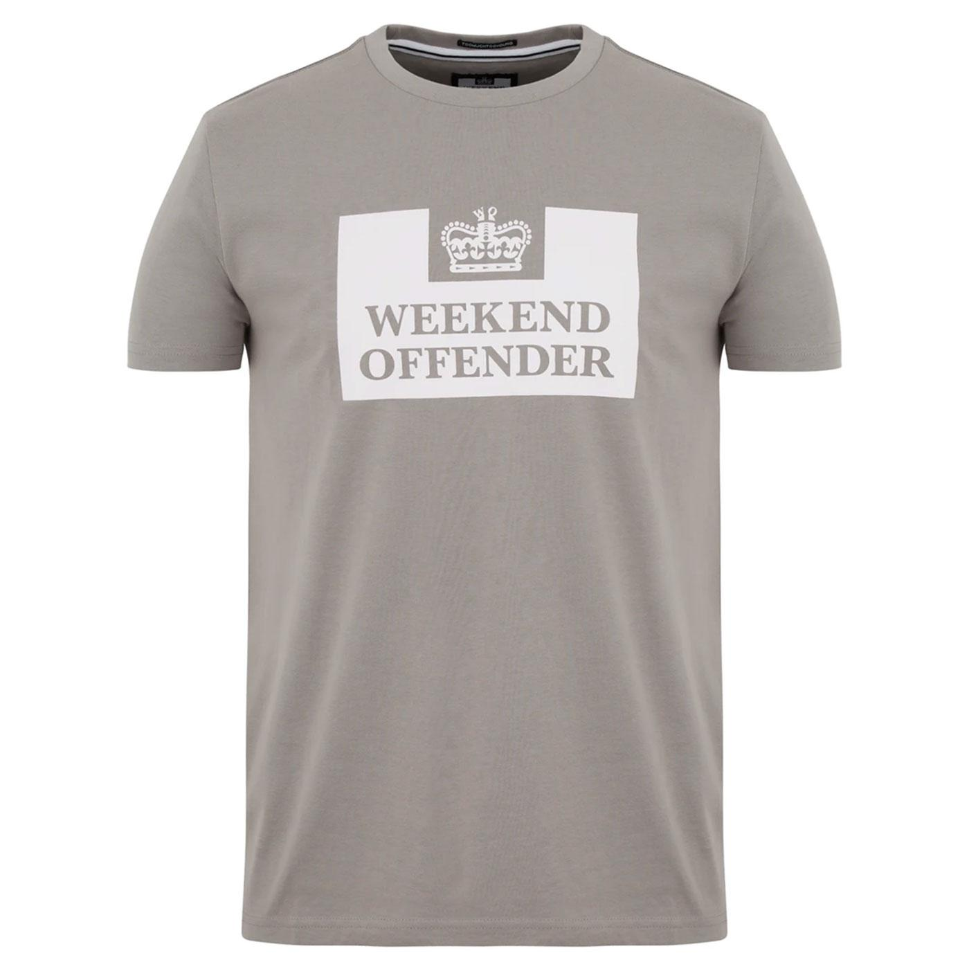 WEEKEND OFFENDER Retro Casuals Prison Tee (Bullet)