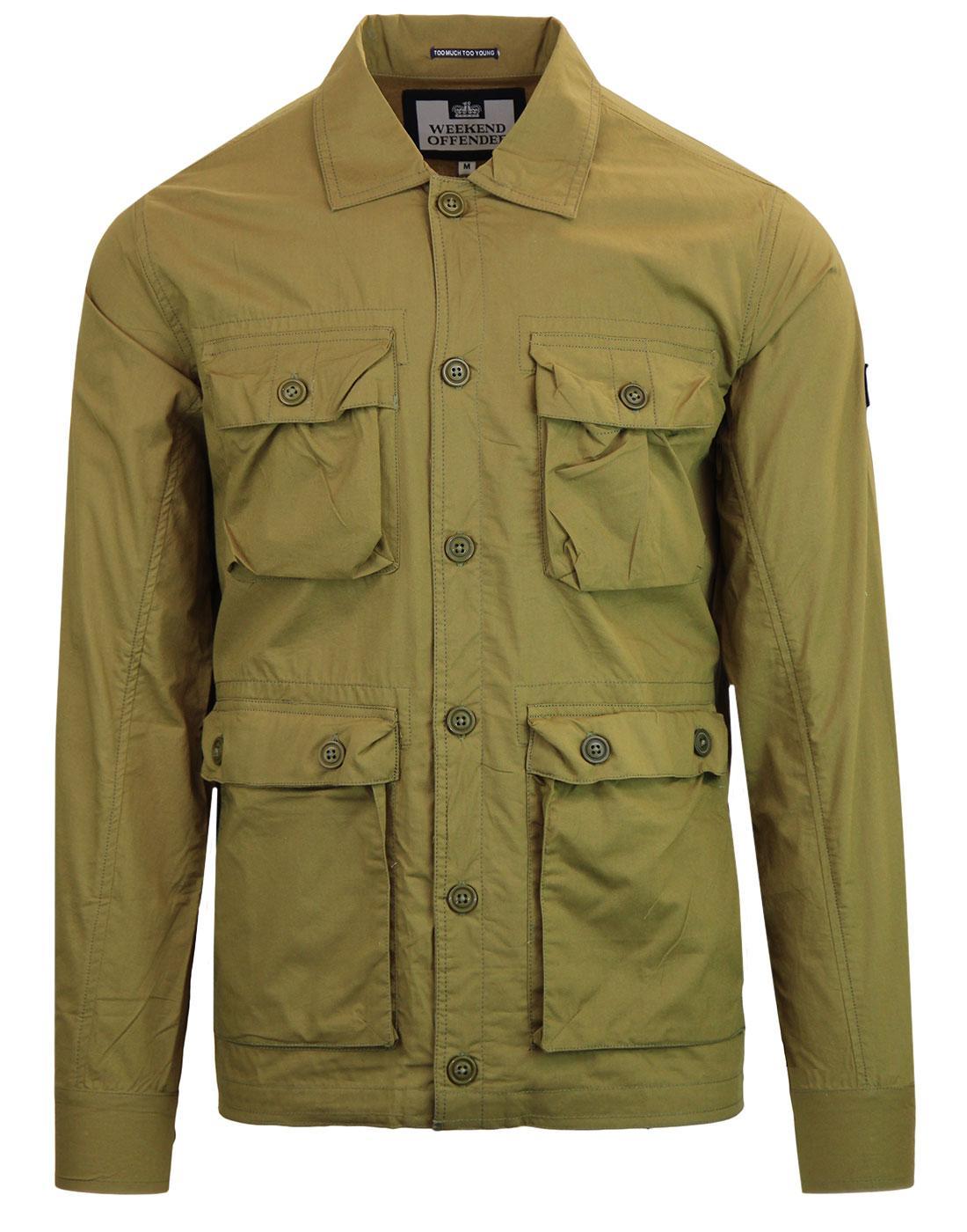 Salinger WEEKEND OFFENDER 90s Military Jacket (O)