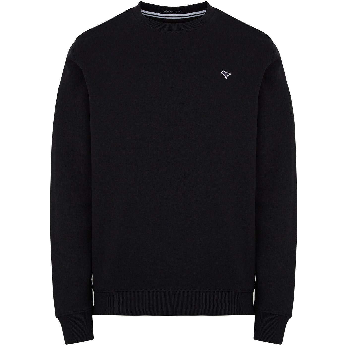 San Jose WEEKEND OFFENDER Retro Sweatshirt (Black)