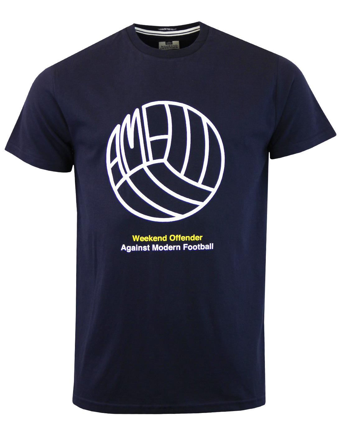 Stand AMF WEEKEND OFFENDER Retro Football Tee (N)