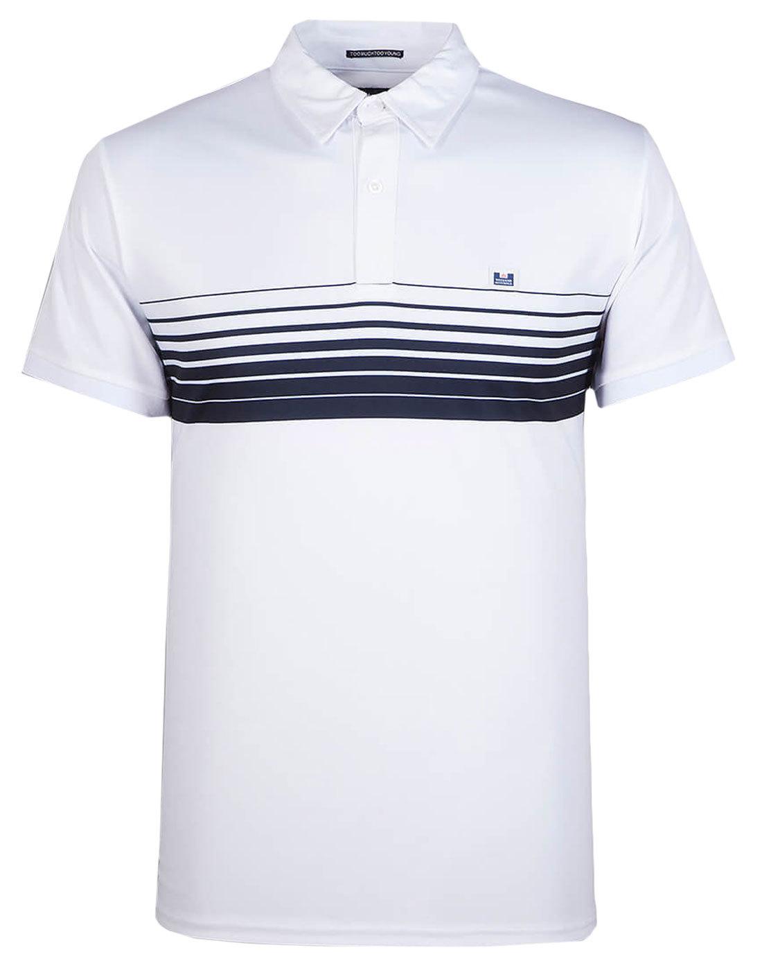 Batida WEEKEND OFFENDER Men's Retro Mod Polo Shirt