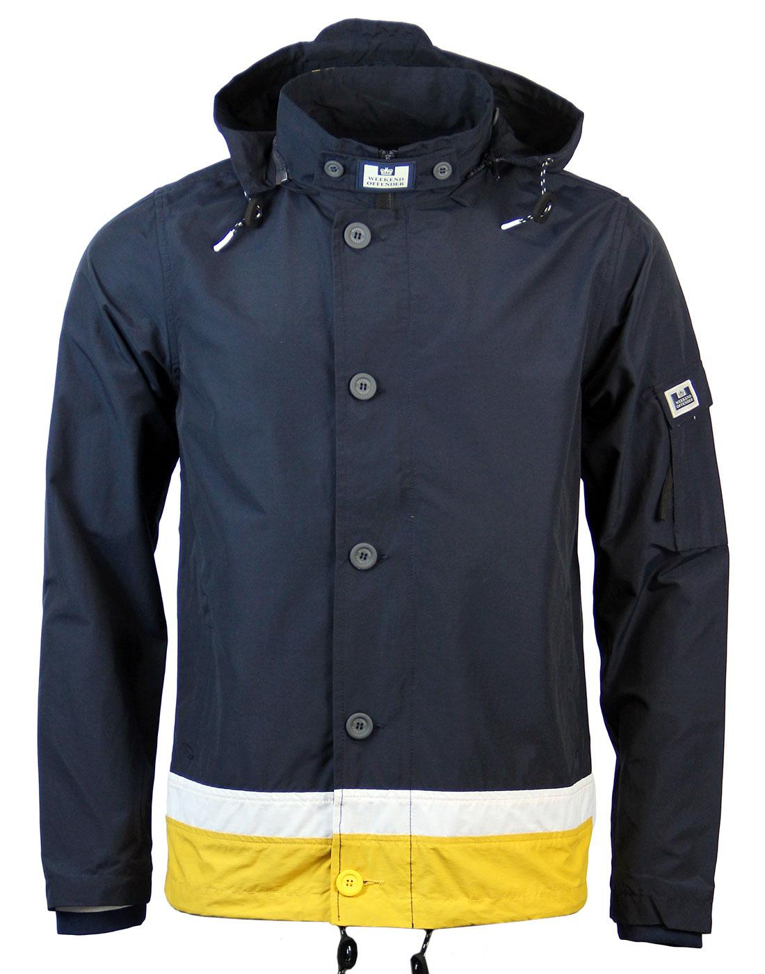 Hemlock WEEKEND OFFENDER Retro 90s Terrace Jacket