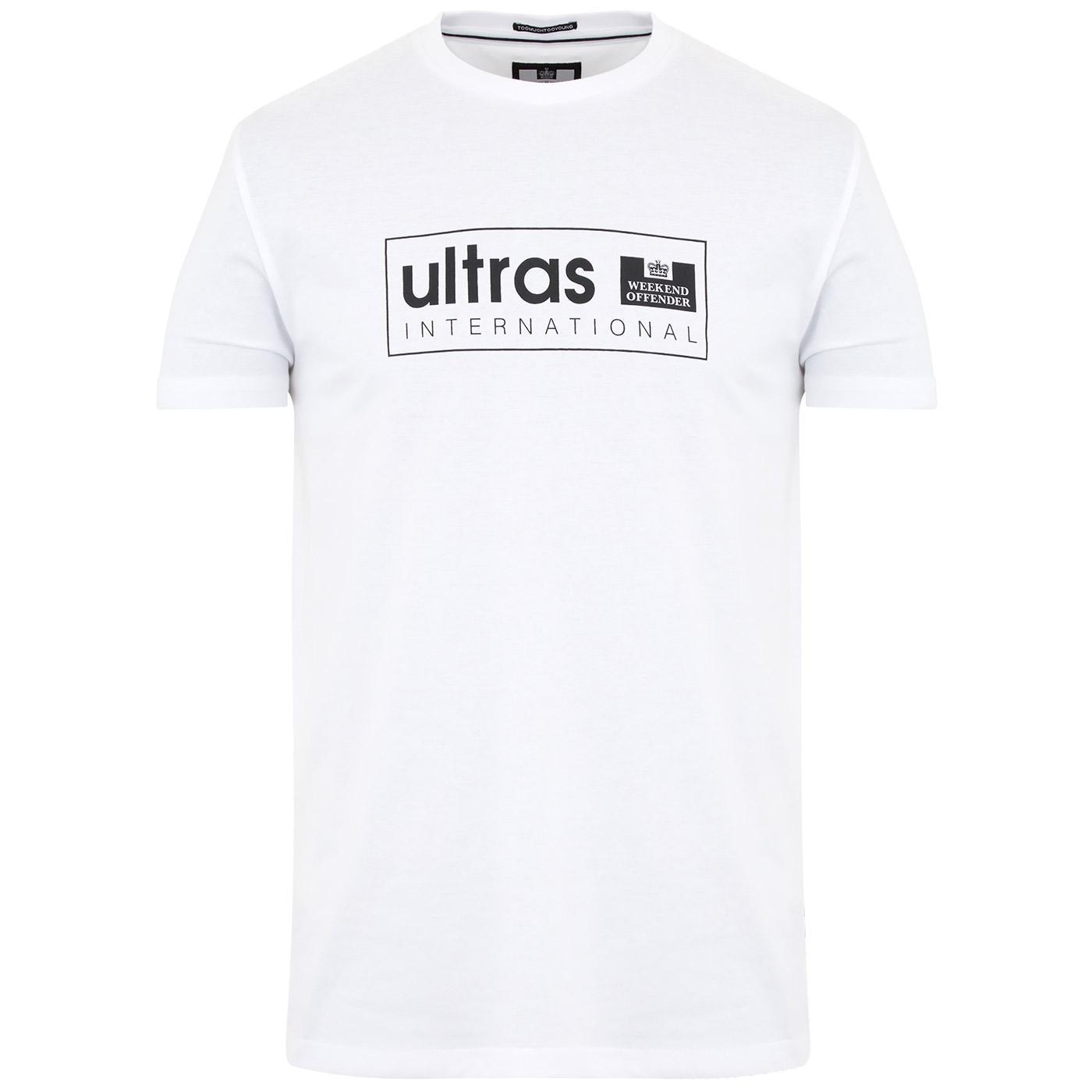 Ultras WEEKEND OFFENDER Retro Casuals Tee (W)