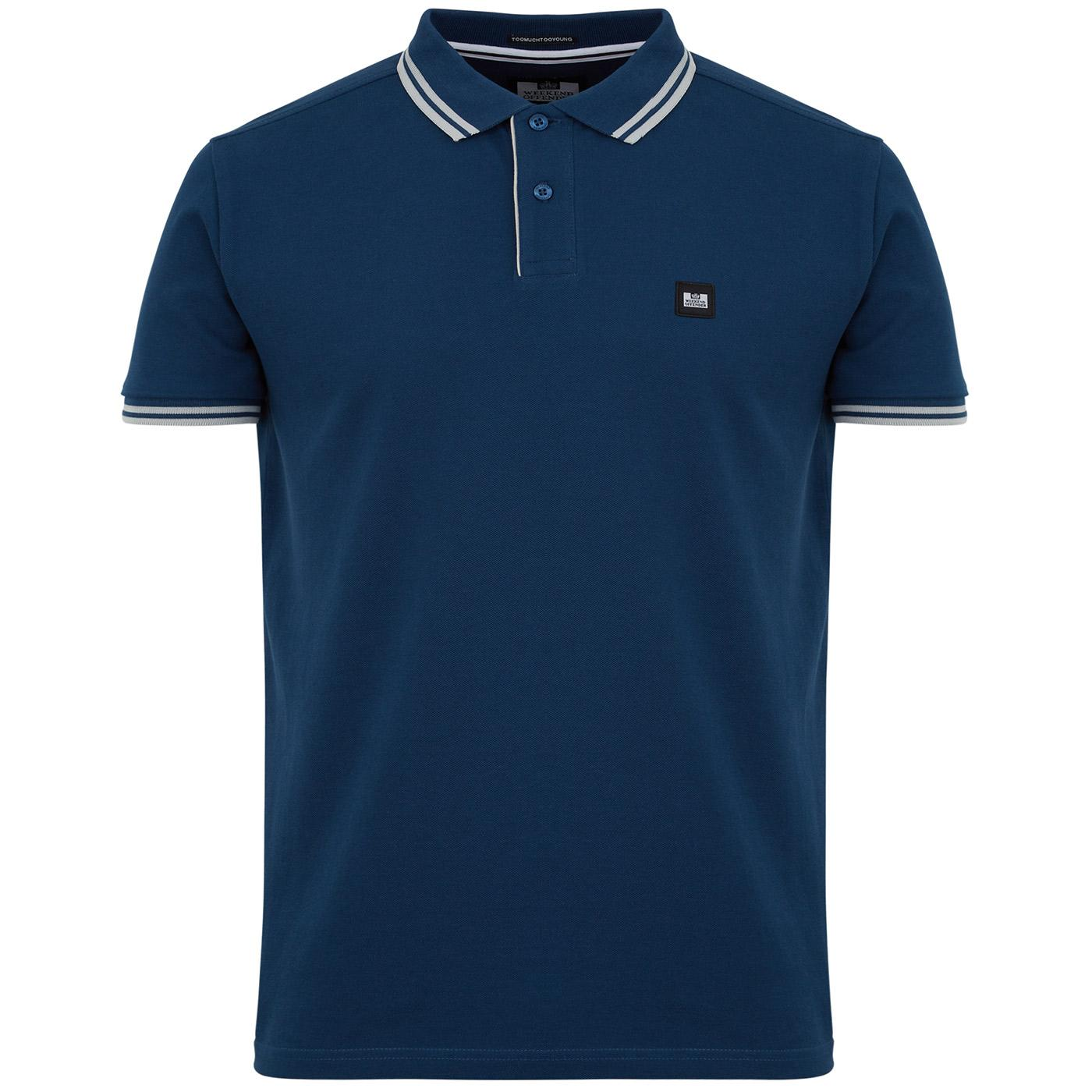 Viverno WEEKEND OFFENDER Mod Stripe Tipped Polo D
