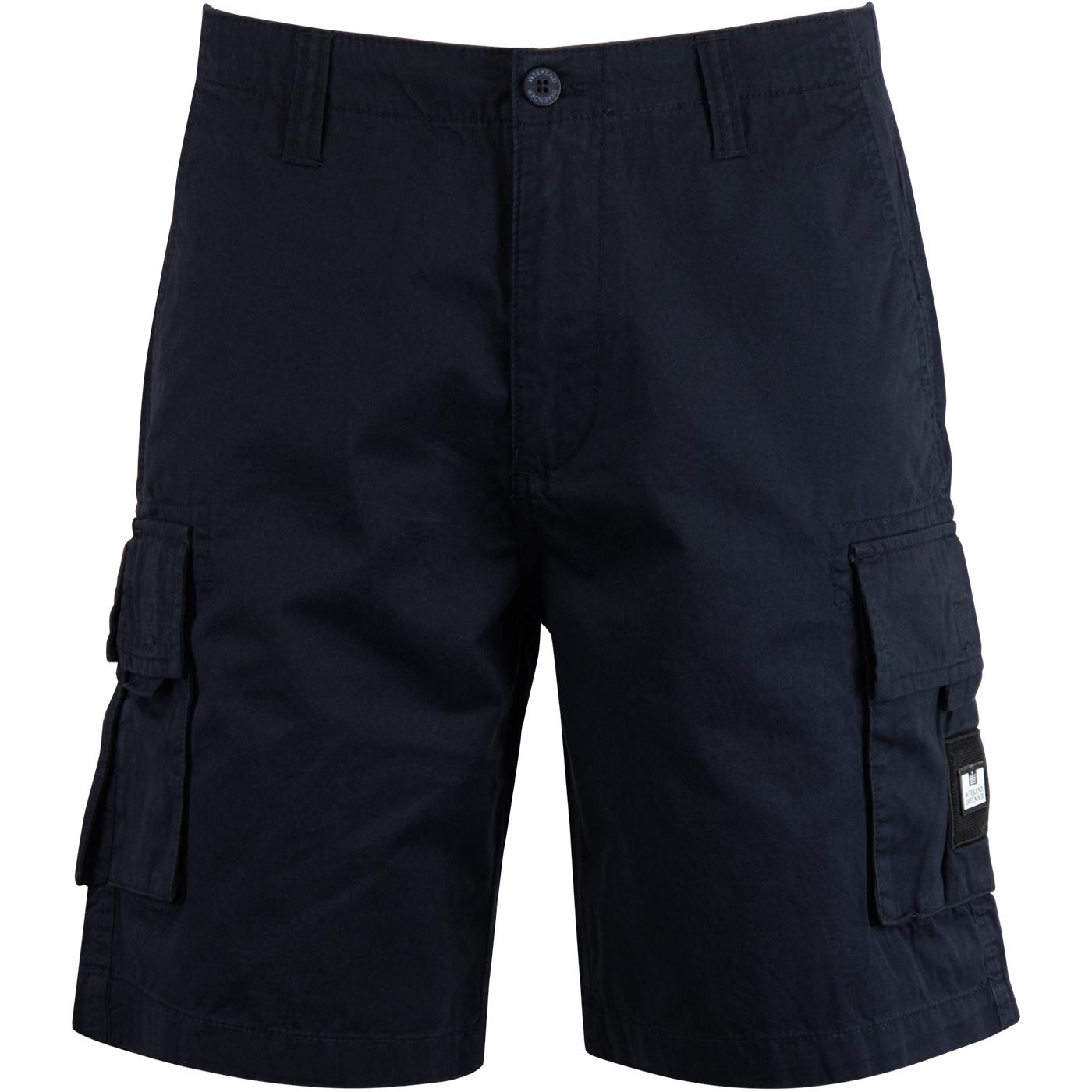 Mascia WEEKEND OFFENDER Retro Combat Shorts (Navy)