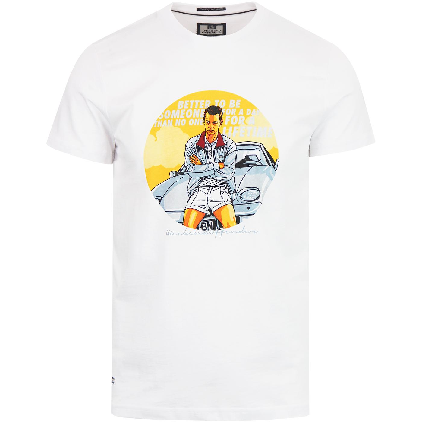 The Business WEEKEND OFFENDER Retro Casuals Tee