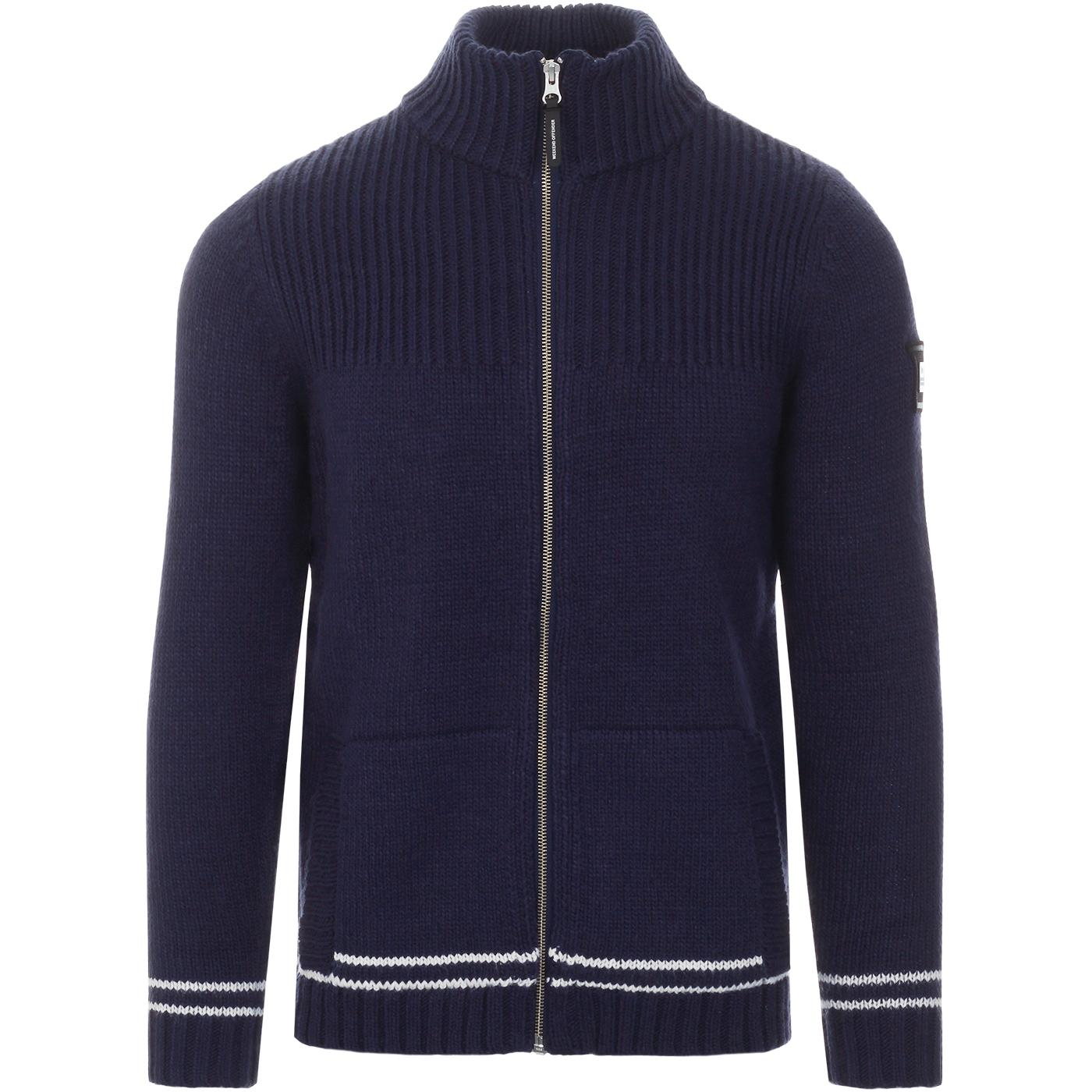 Lugo WEEKEND OFFENDER Retro Chunky Knit Cardigan