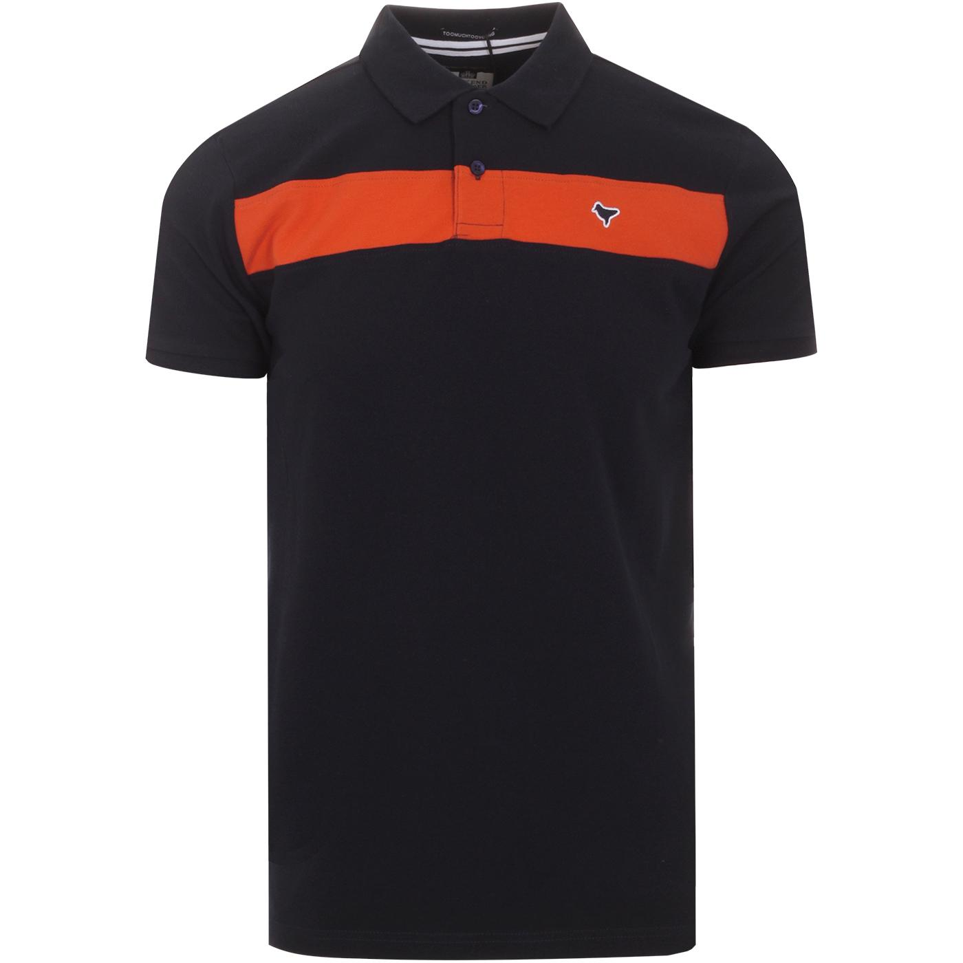 Panama WEEKEND OFFENDER Mod Panel Polo Shirt N
