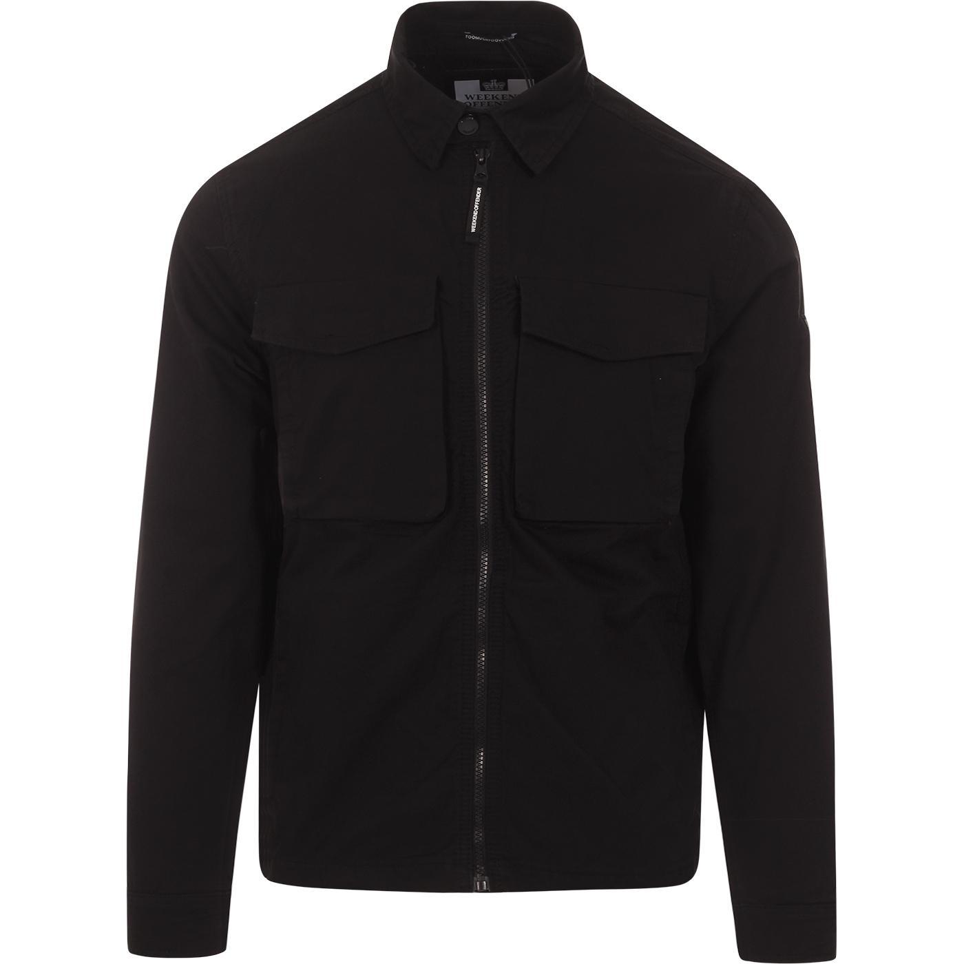 Pileggi WEEKEND OFFENDER Military Shirt Jacket (B)