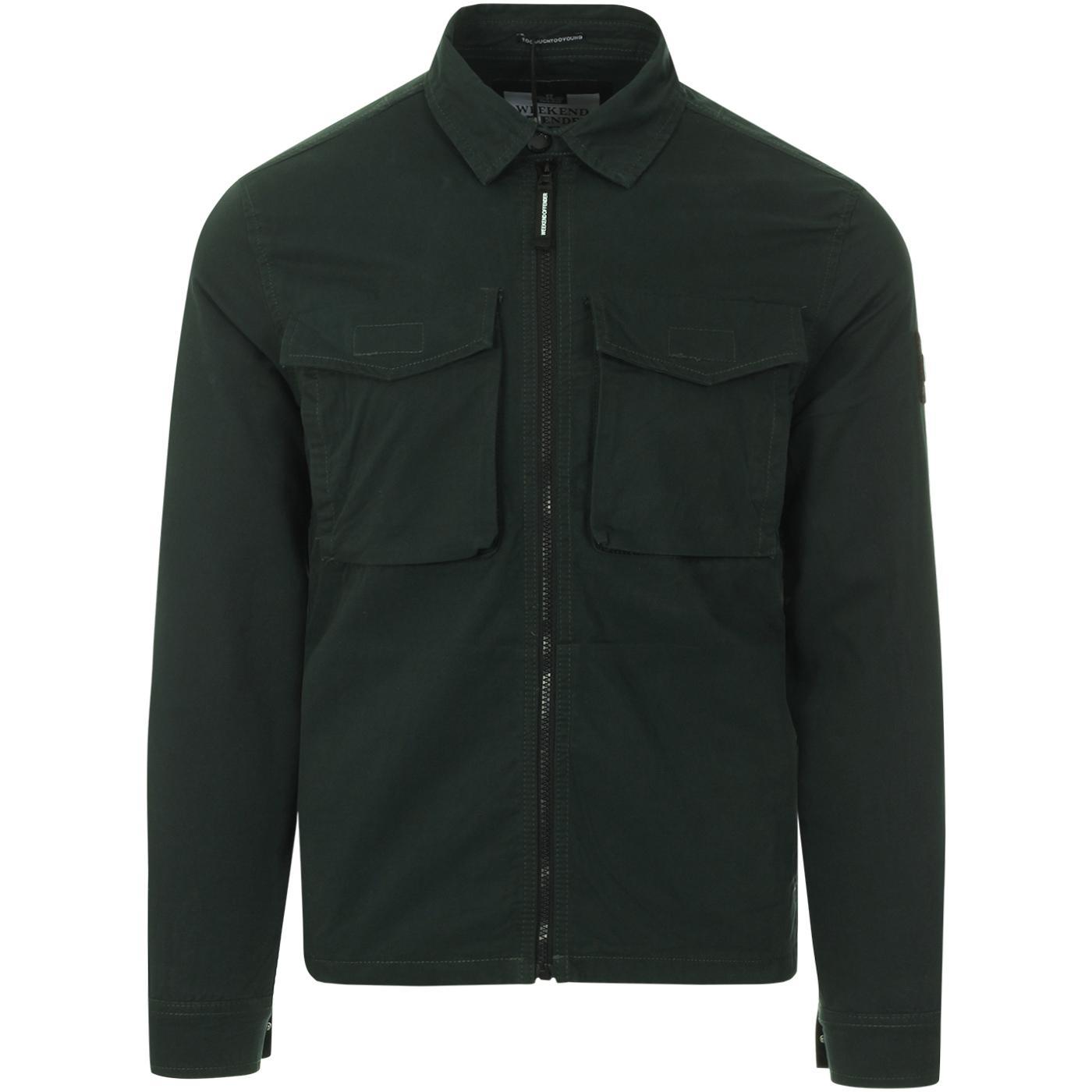 Pileggi WEEKEND OFFENDER Mod Military Shirt Jacket