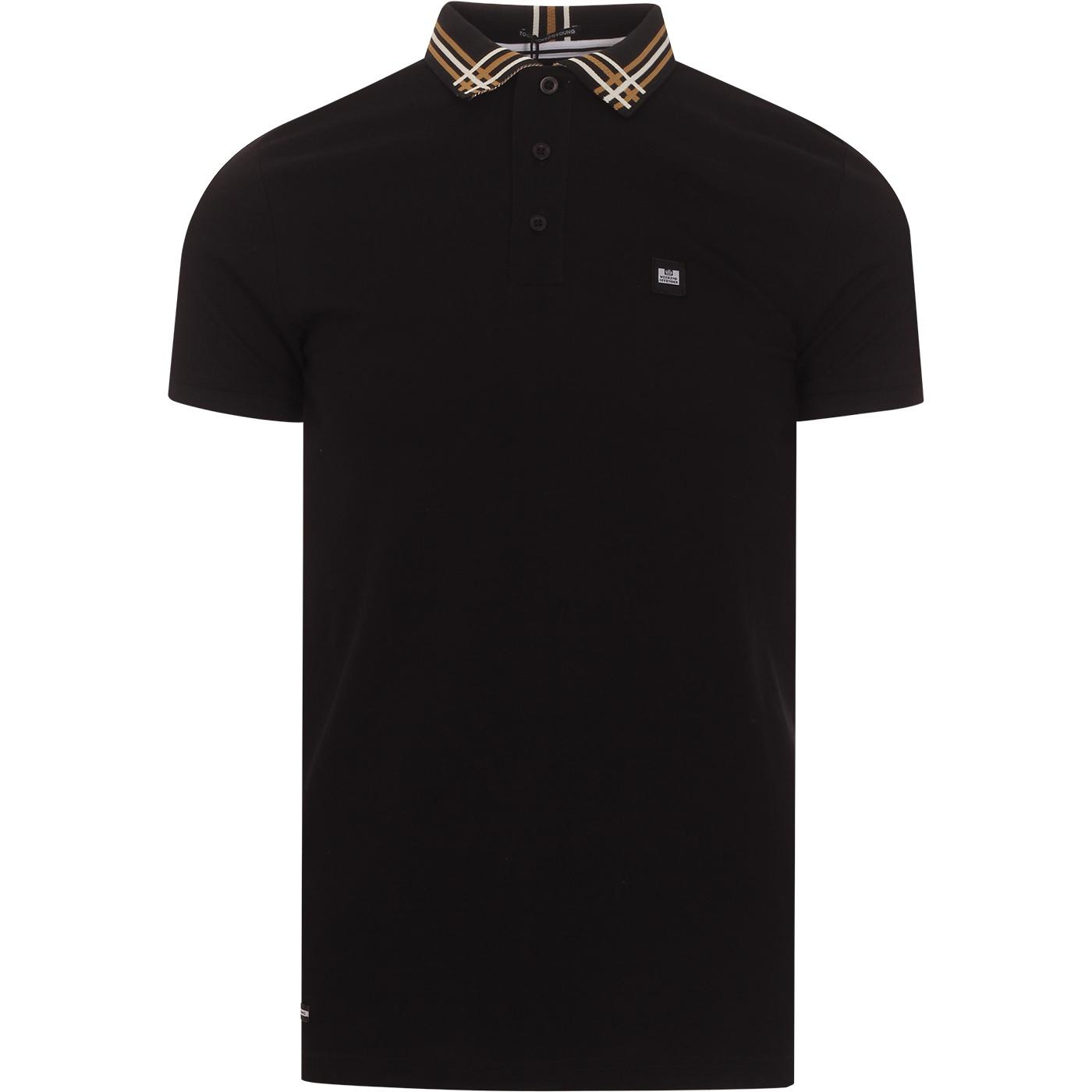 Rivera WEEKEND OFFENDER Cross Hatch Collar Polo B