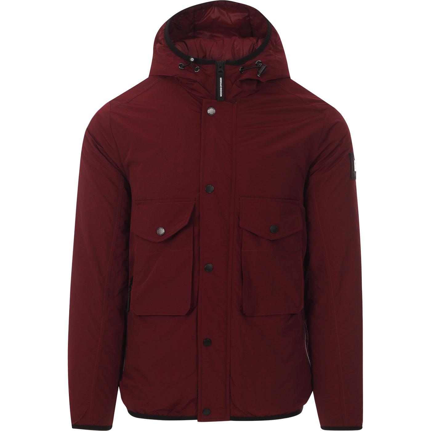 Salinas WEEKEND OFFENDER Retro Hooded Jacket (Bu)