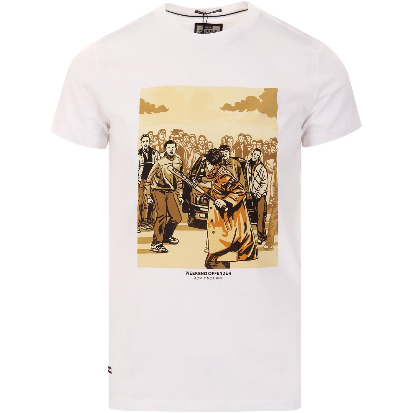 The Firm WEEKEND OFFENDER Retro Graphic Print Tee