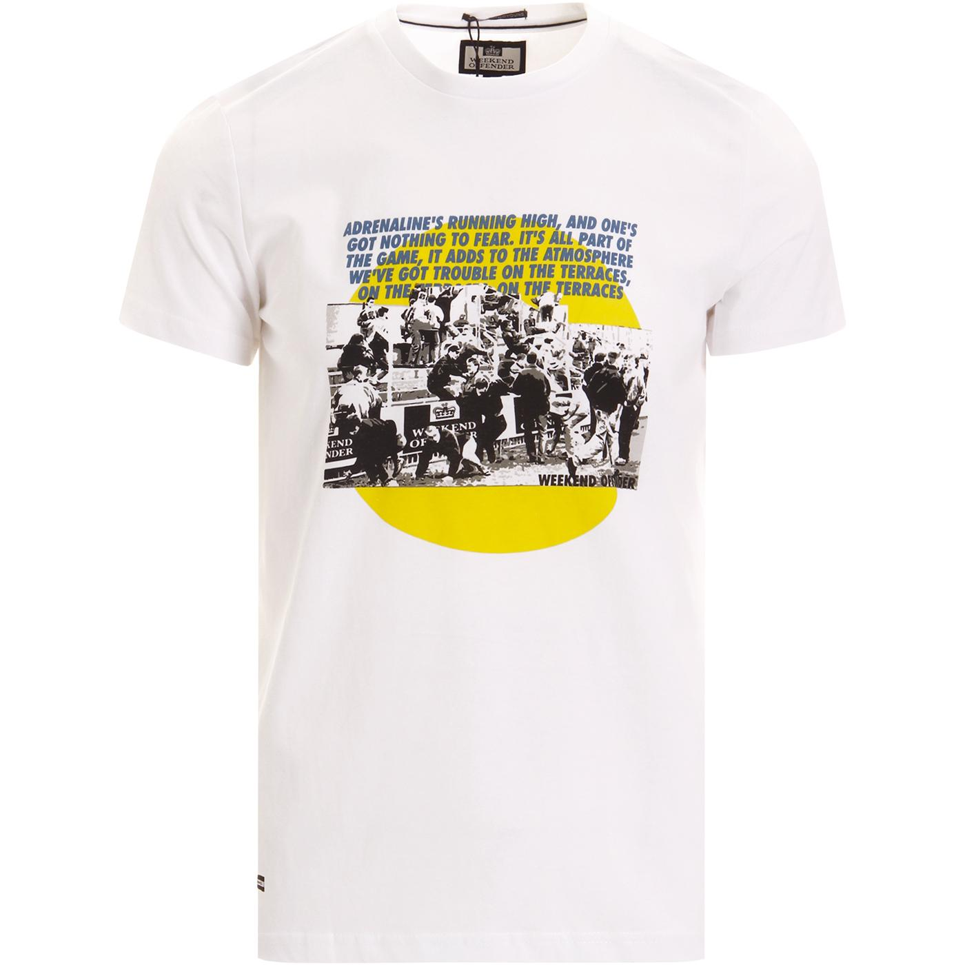 Trouble WEEKEND OFFENDER 80s Casuals Terrace Tee