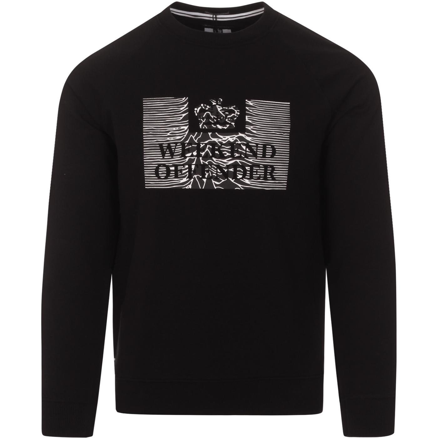 Unknown Pleasures WEEKEND OFFENDER Sweatshirt