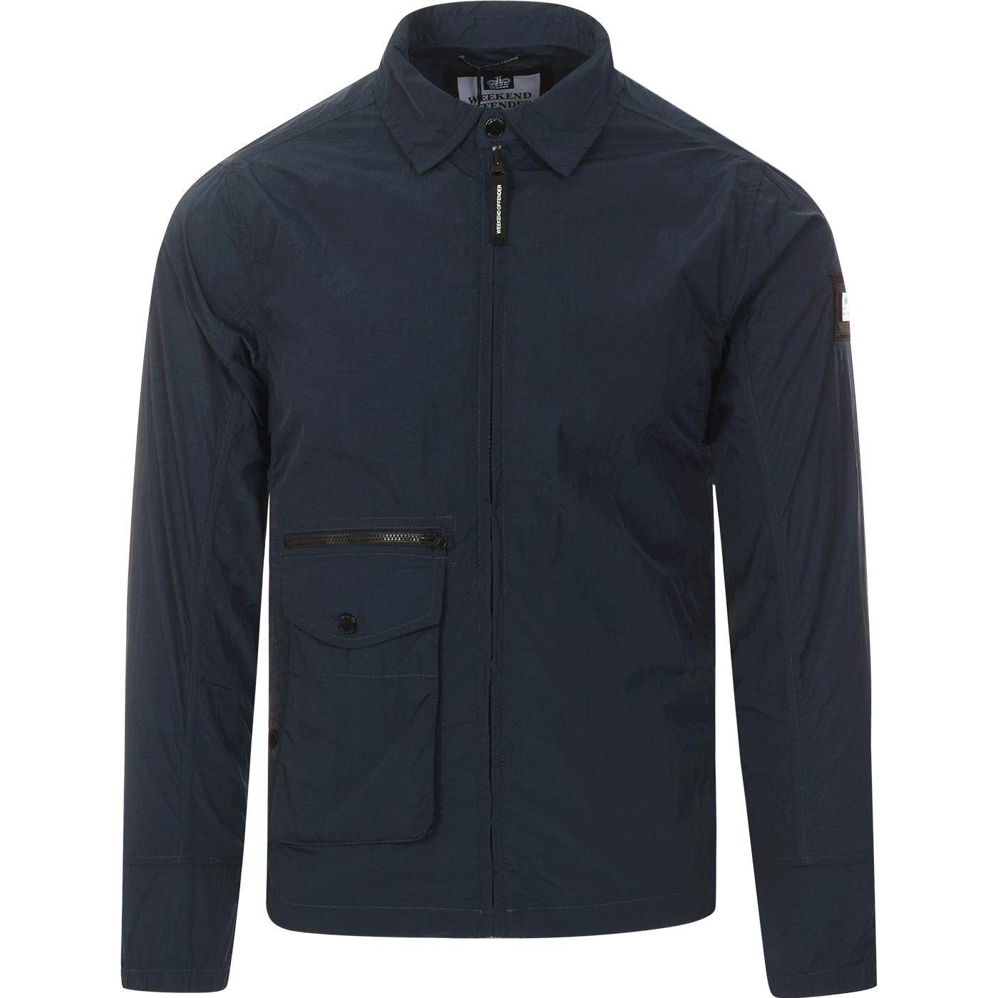 Vinnie WEEKEND OFFENDER Retro Shirt Jacket (Navy)