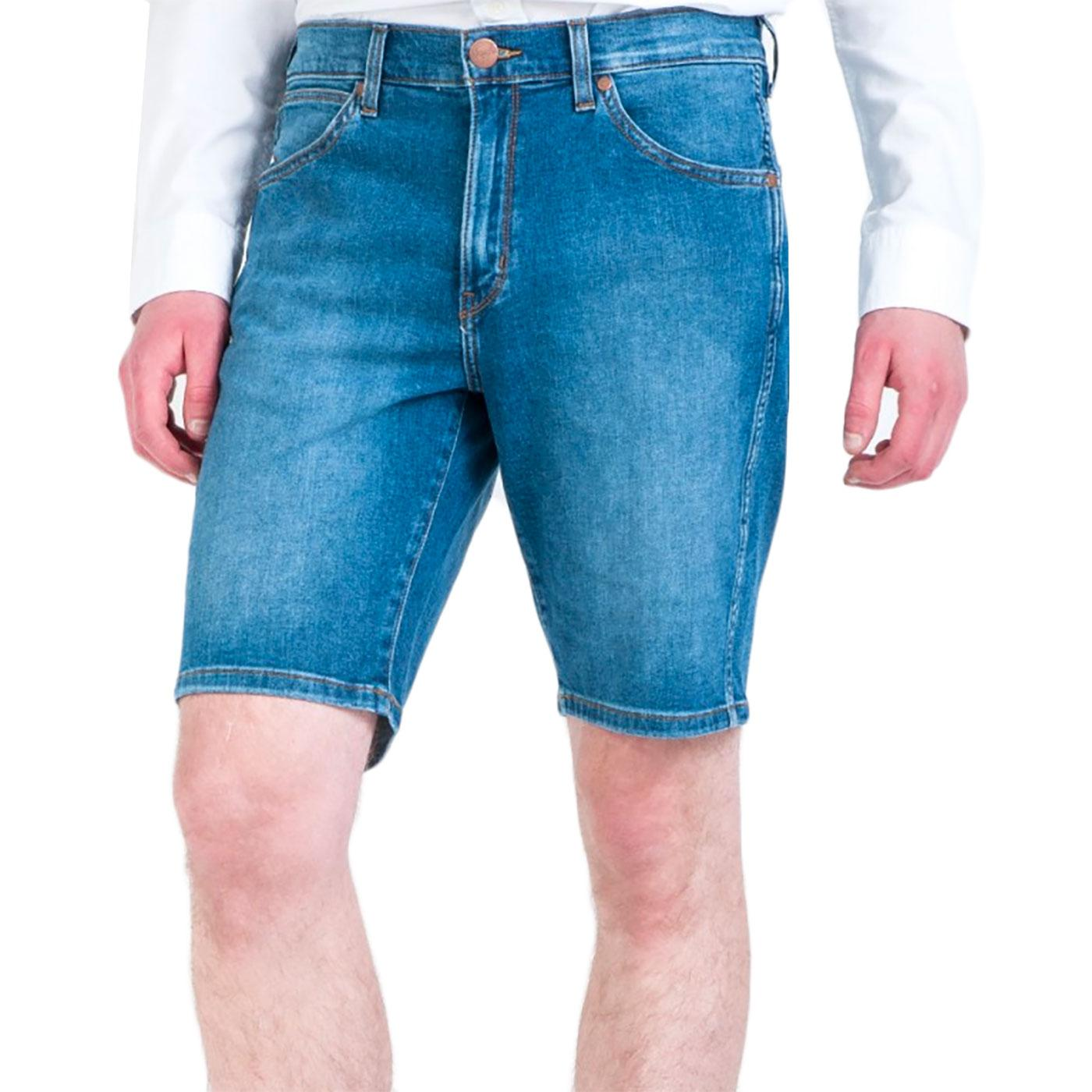 WRANGLER Retro 5 Pocket Denim Shorts (Blue Dodge)