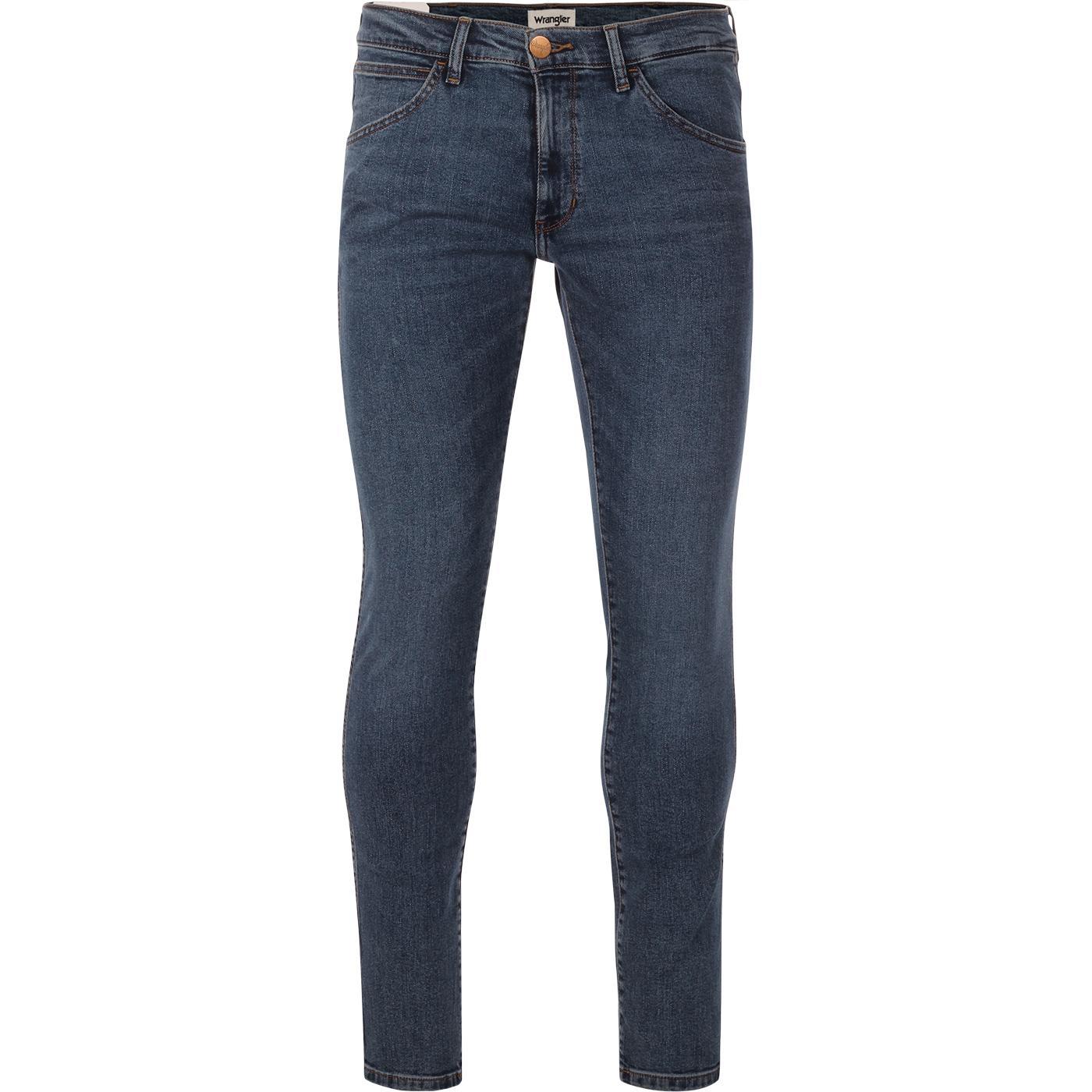 Bryson WRANGLER Retro Mod Skinny Jeans (Blue Shot)