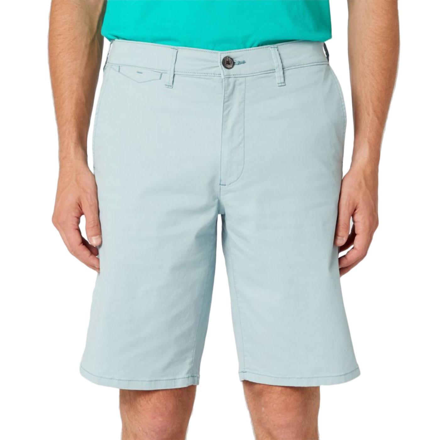 WRANGLER Men's Retro 4 Pocket Chino Shorts (Mist)