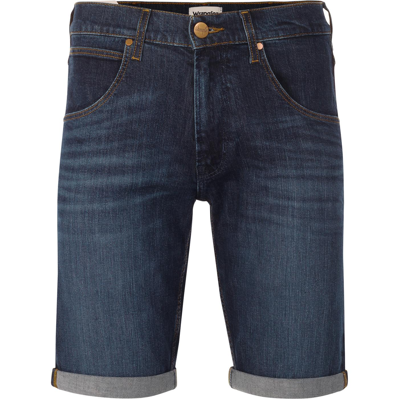 Colton WRANGLER Turn Up Denim Shorts (The Legend)
