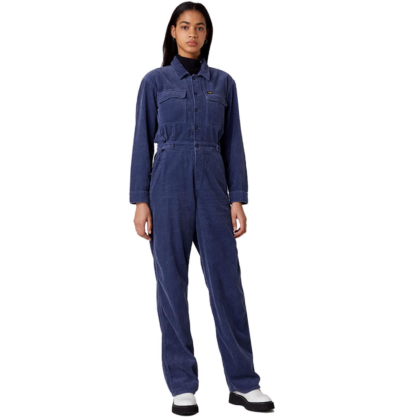 WRANGLER Women's Retro Corduroy Boilersuit CS
