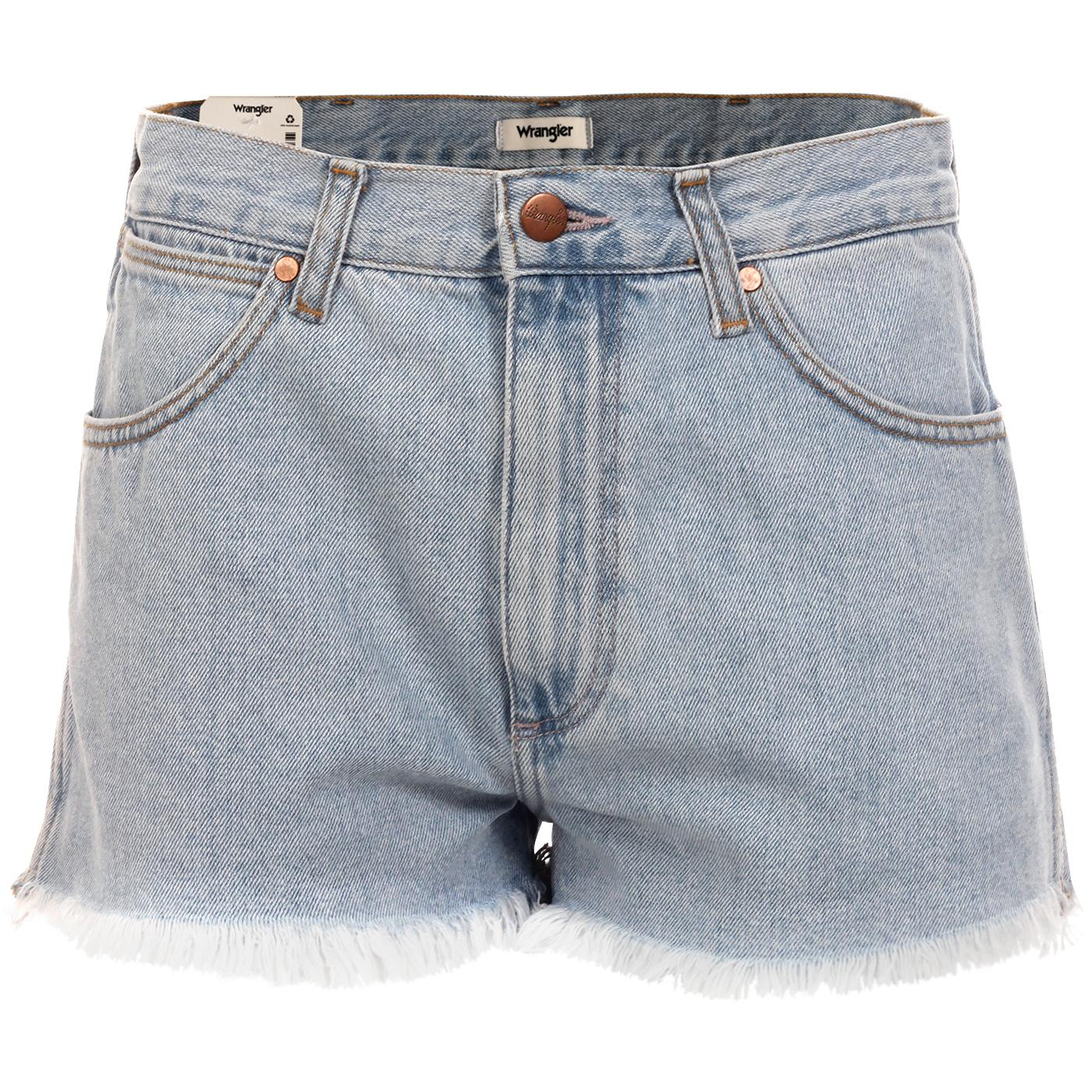 WRANGLER Women's Retro 70s Denim Festival Shorts