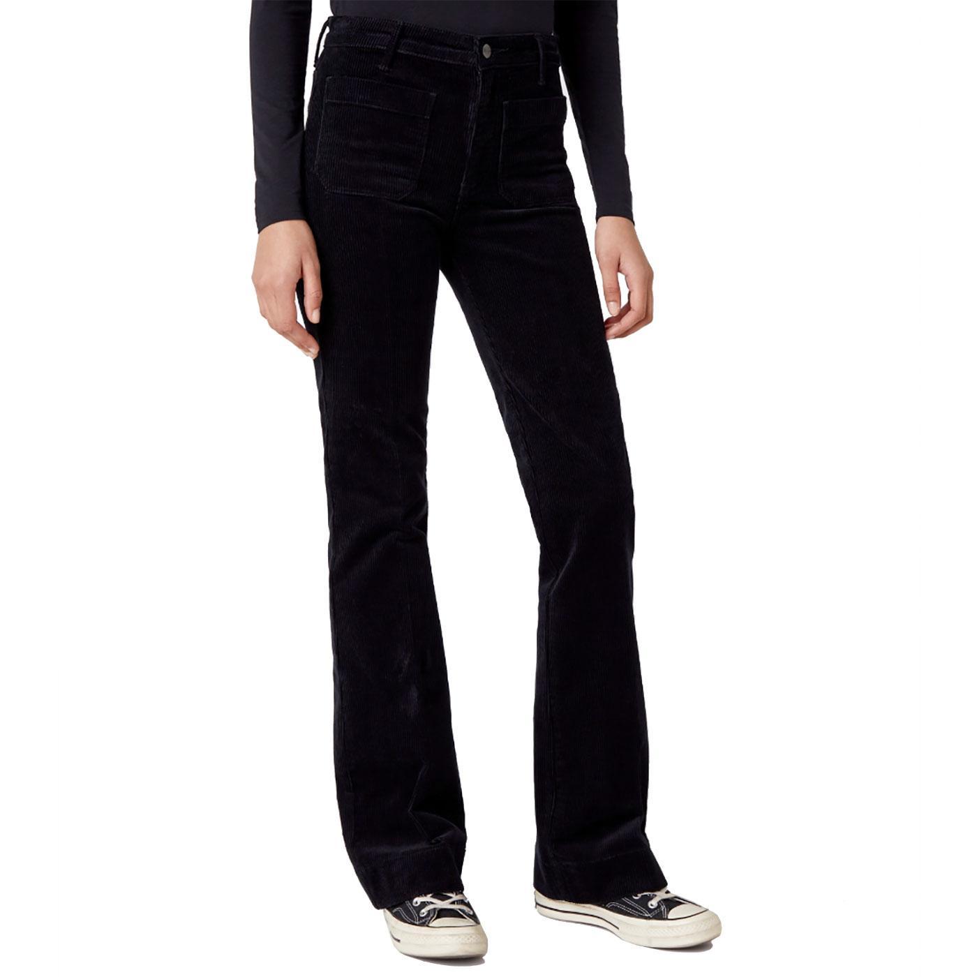 WRANGLER Retro Seventies Corduroy Flared Jeans