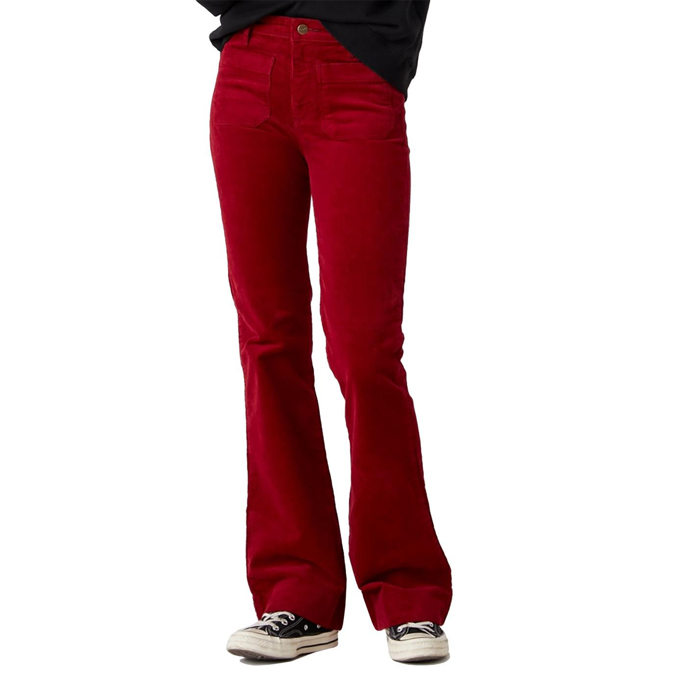 WRANGLER Retro Seventies Corduroy Flared Jeans RR