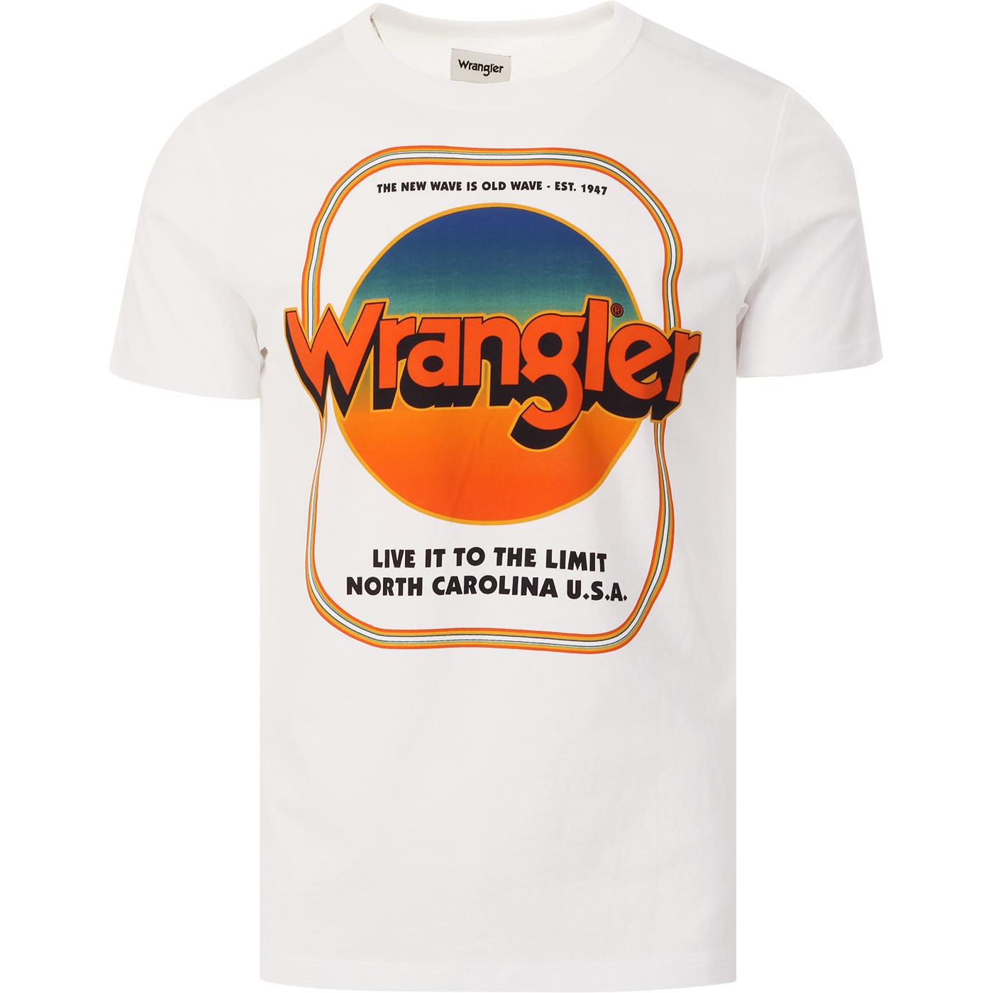 Good Times WRANGLER Retro 70s Tee (True White)