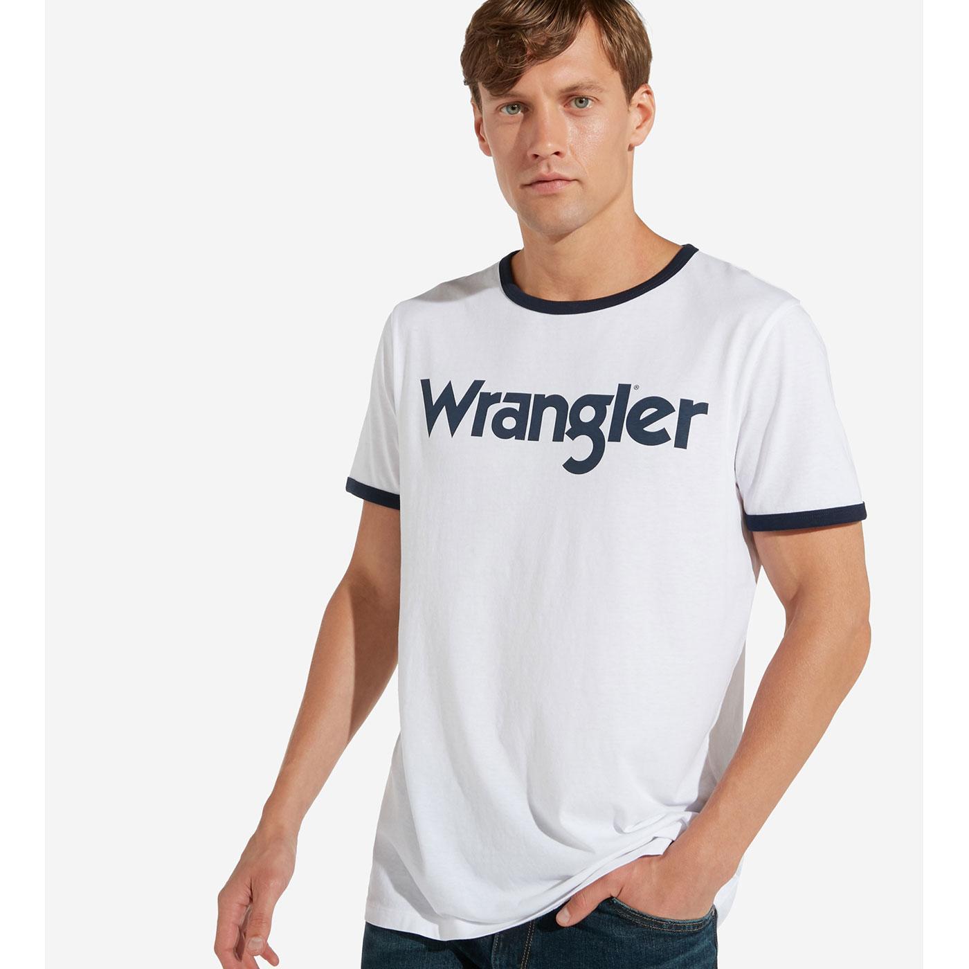 Kabel WRANGLER Retro Men's Crew Ringer Logo Tee W