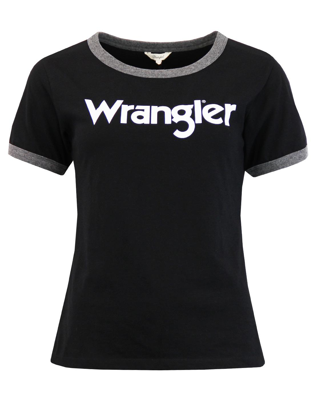 Kabel WRANGLER Women's Retro 70s Ringer T-shirt B