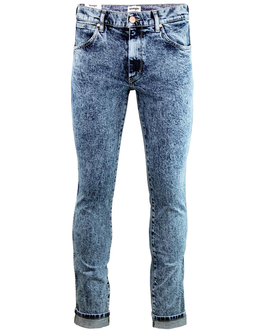 Larston WRANGLER Men's Slim Tapered Snowash Jeans