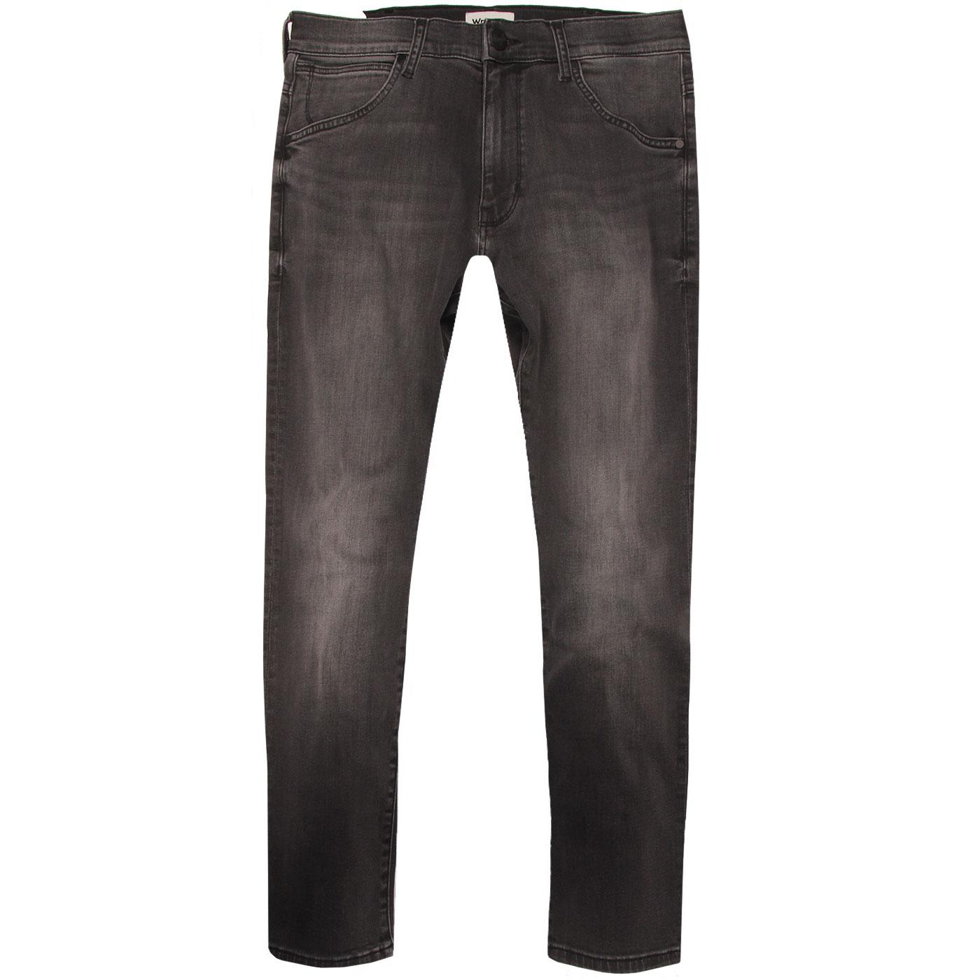 Larston WRANGLER Slim Tapered Denim Jeans - STEEL