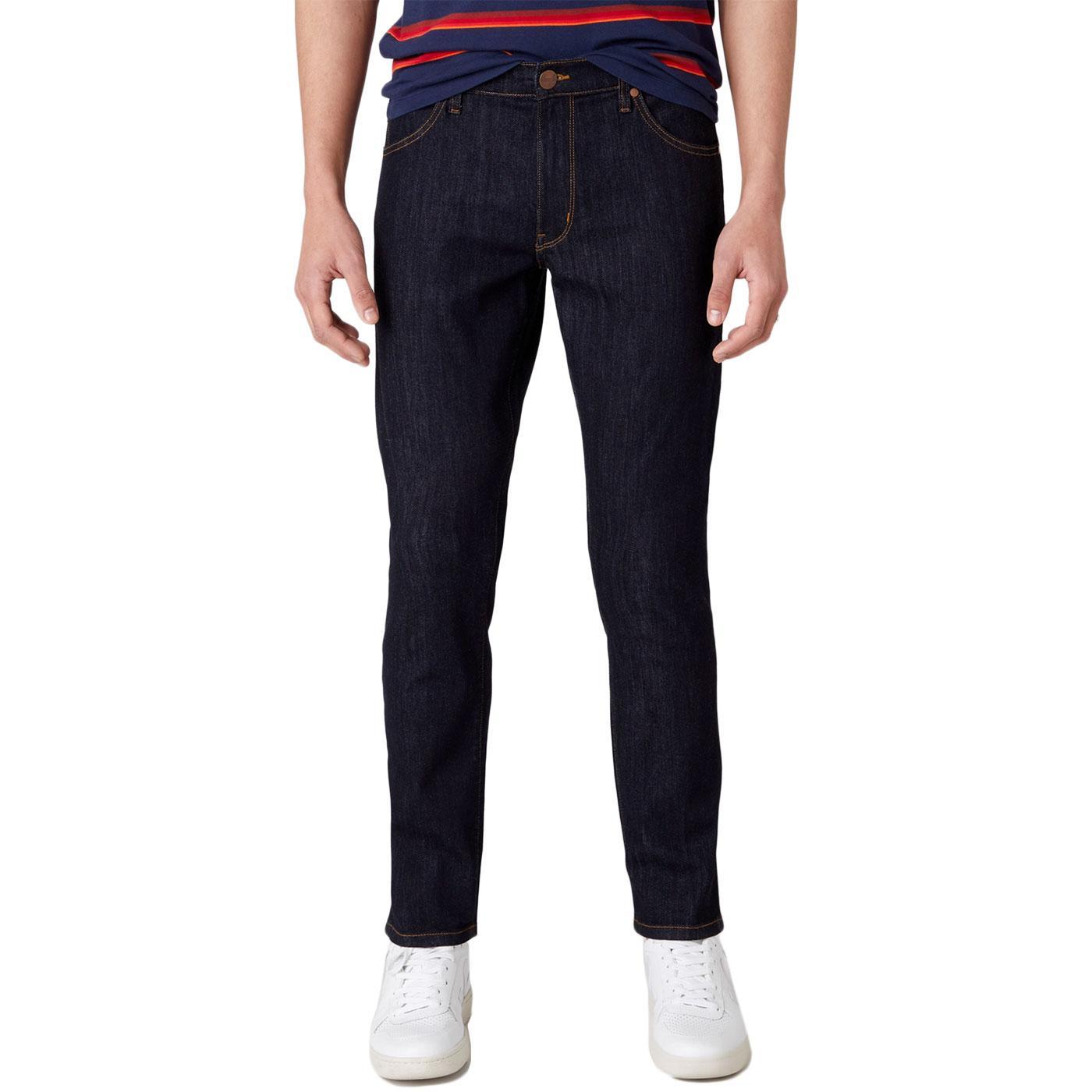 Larston WRANGLER Mod Dark Rinse Slim Tapered Jeans