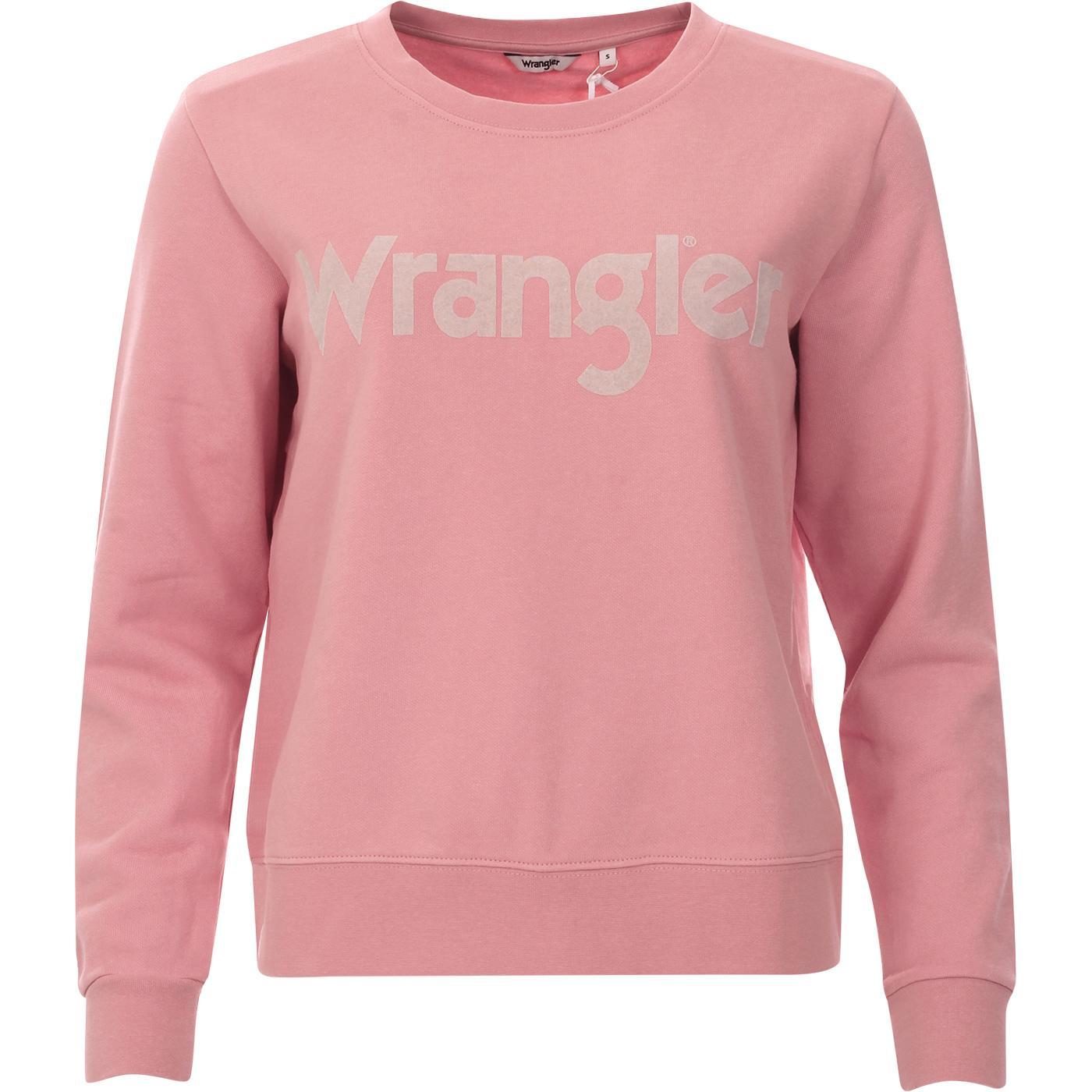 WRANGLER Women's Retro 70's Logo Sweater BR