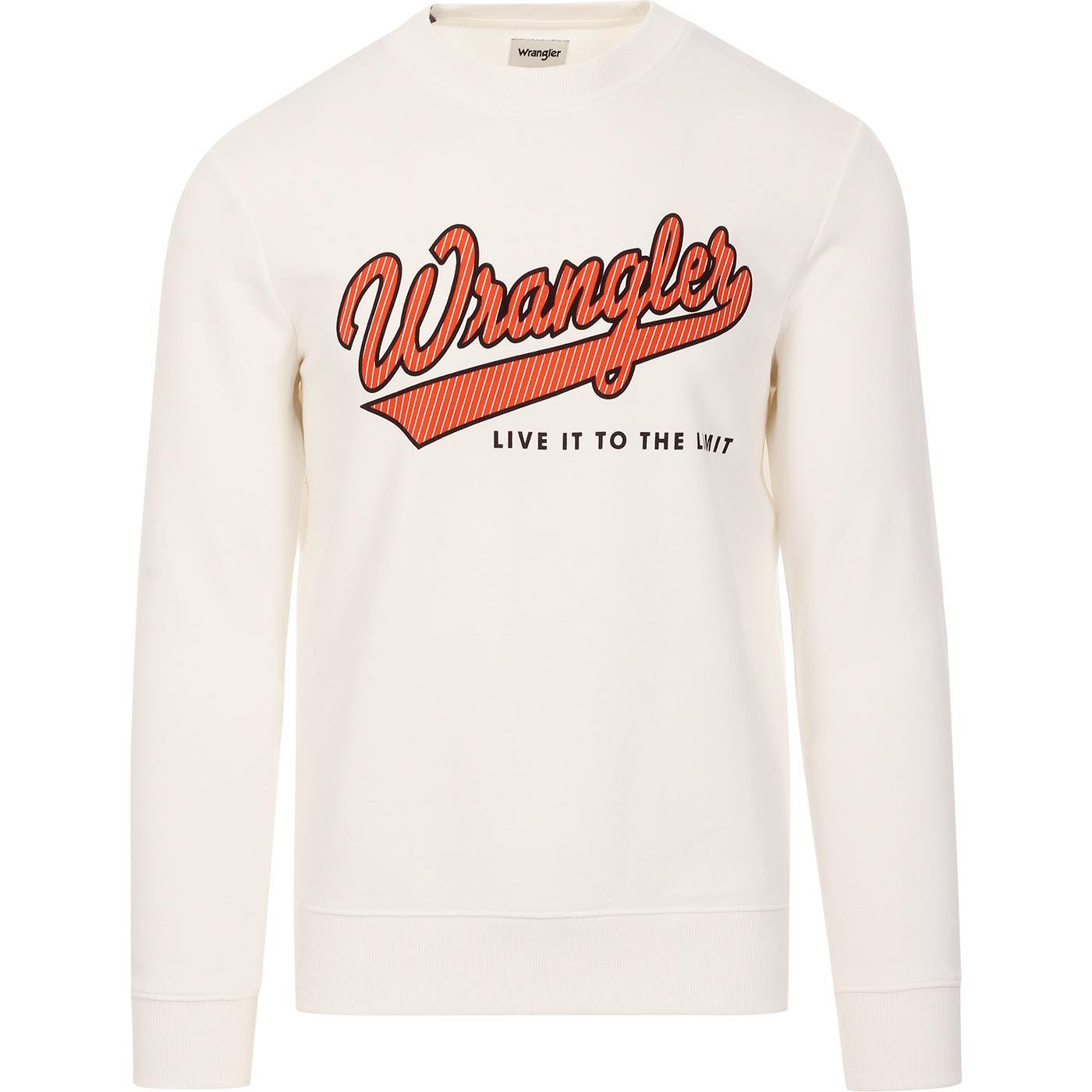 WRANGLER Live It To The Limit Retro 70s Sweatshirt