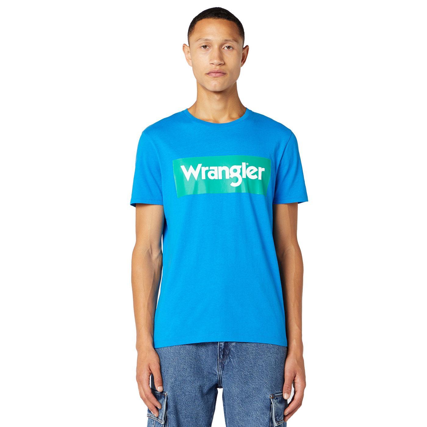 WRANGLER Men's Retro 70's Bold Logo T-Shirt DB