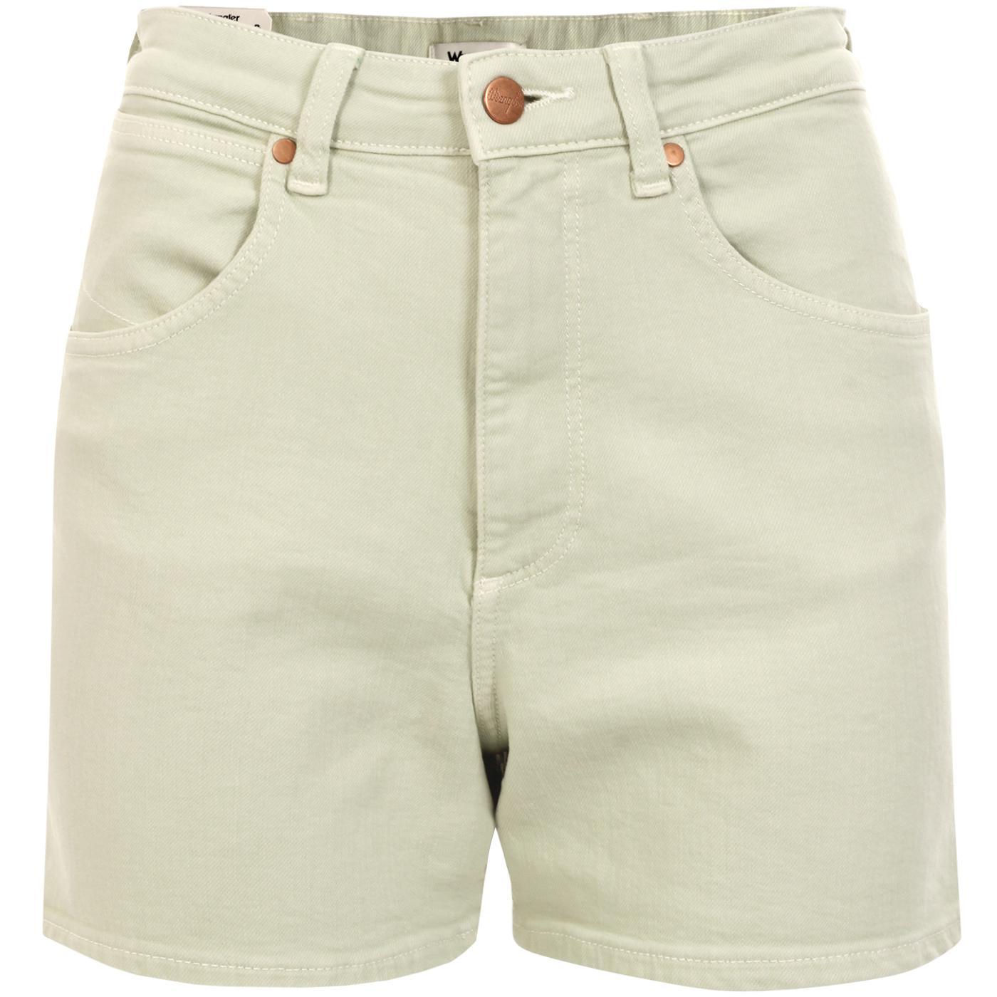 WRANGLER Women's Retro Mom Shorts APPLE GREEN