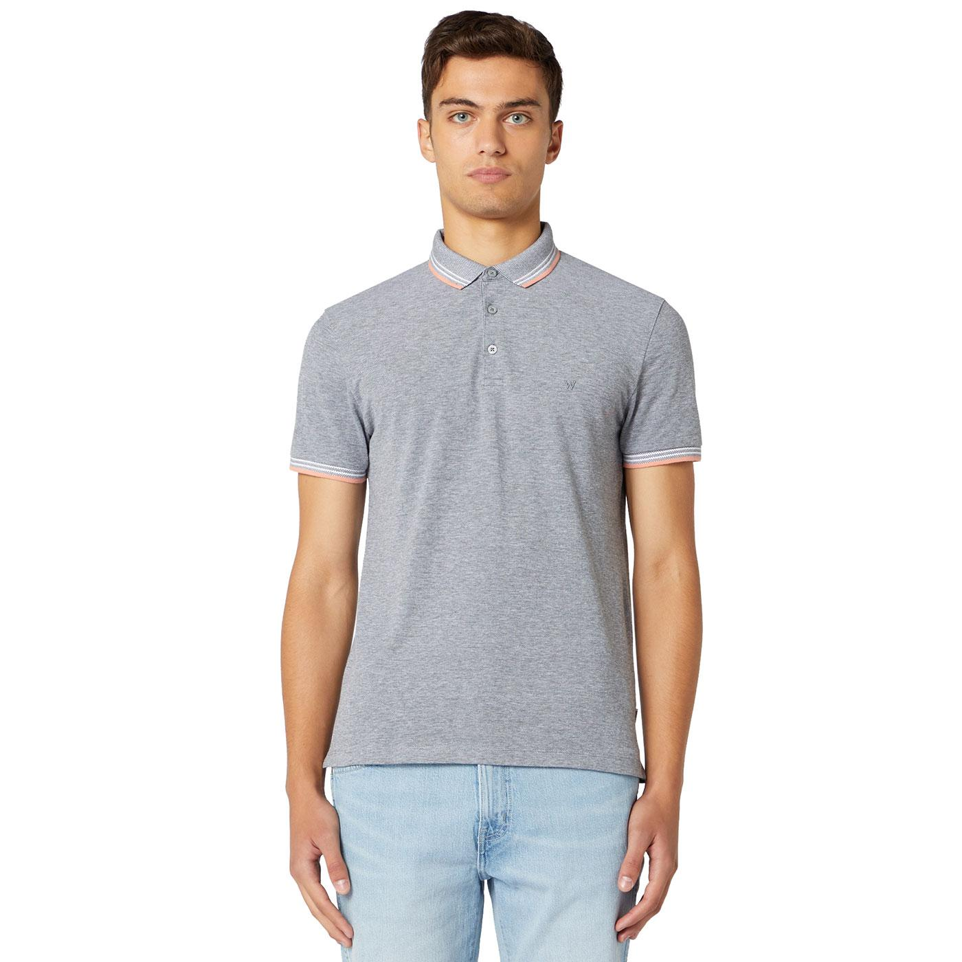Wrangler Men's Retro Refined Pique Polo Shirt CG