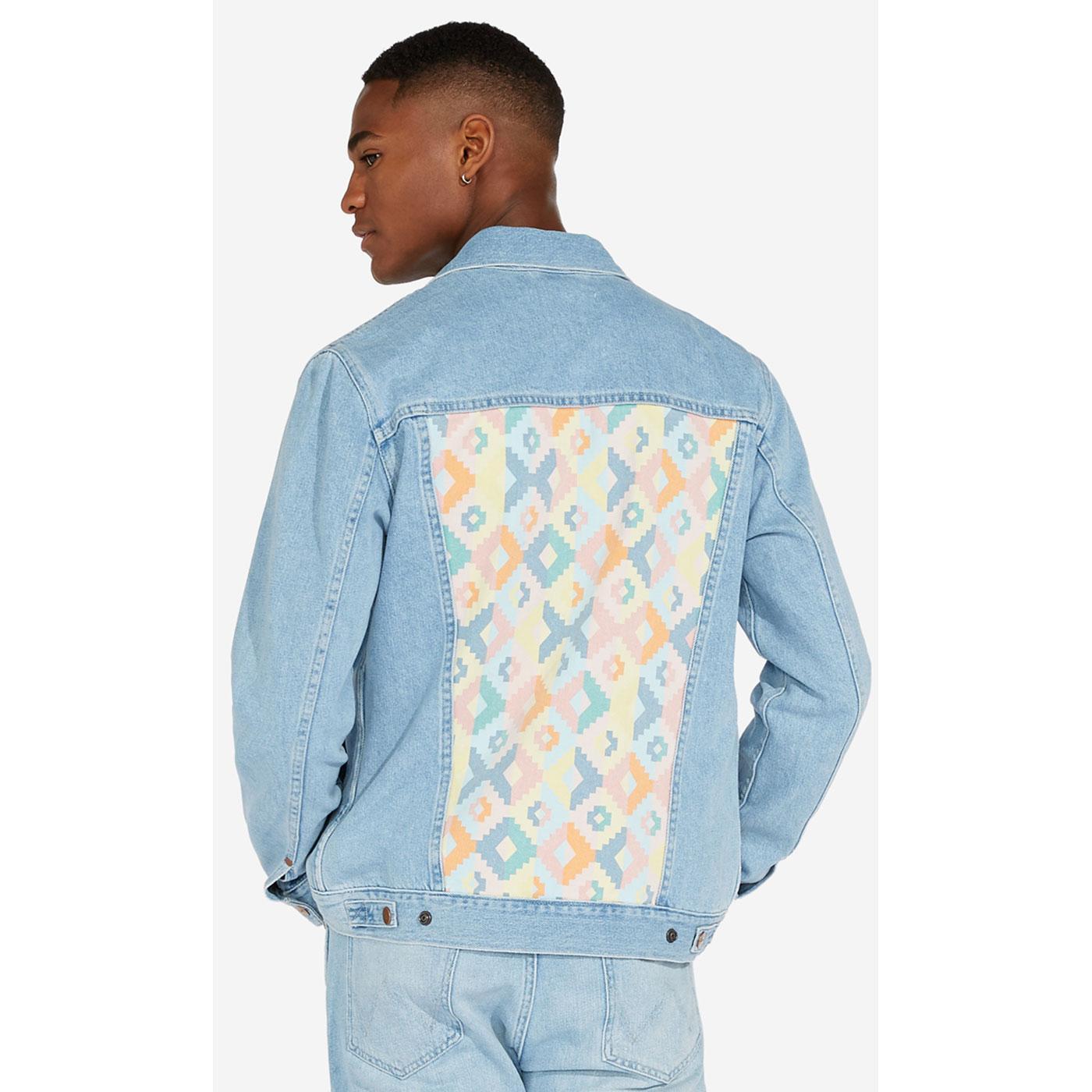 WRANGLER Retro 90's Navajo Regular Denim Jacket