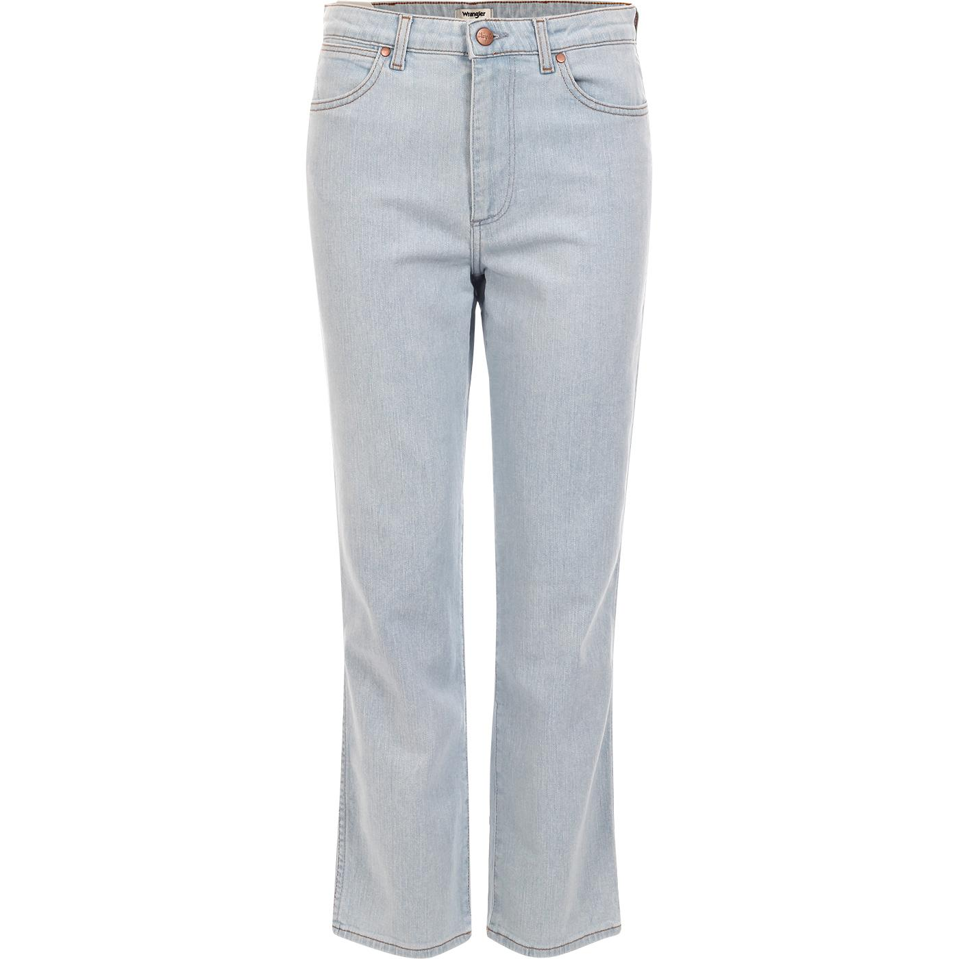 The Retro WRANGLER Straight Leg Jeans BALLAD BLUE