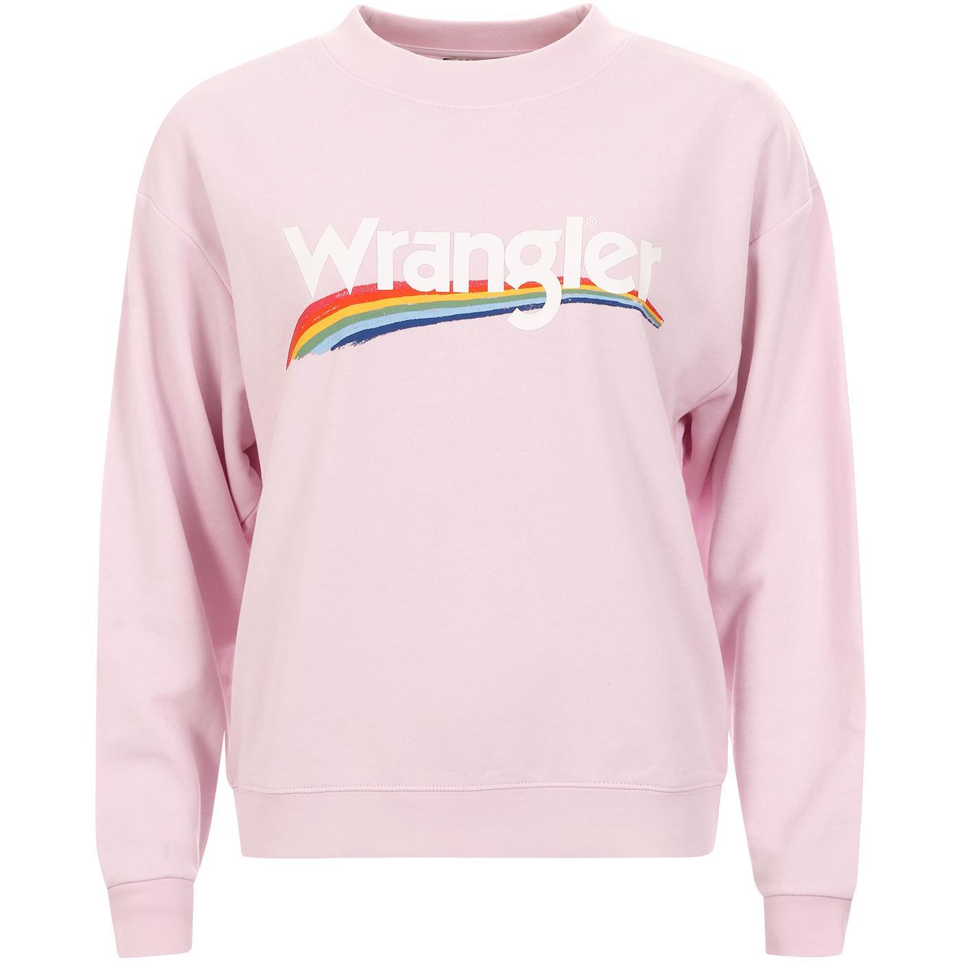 High Rib WRANGLER Women's Retro Sweater LILAC