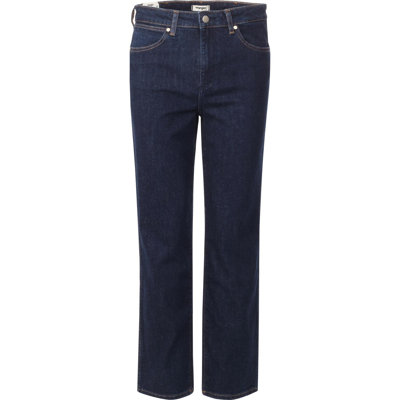 WRANGLER Retro Straight Denim Jeans (Dark Blue)