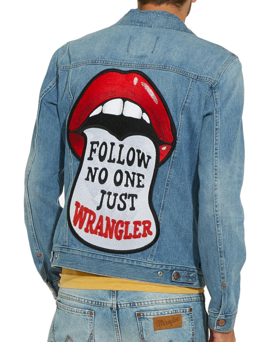 WRANGLER Retro 70s Follow No One Patch Jacket