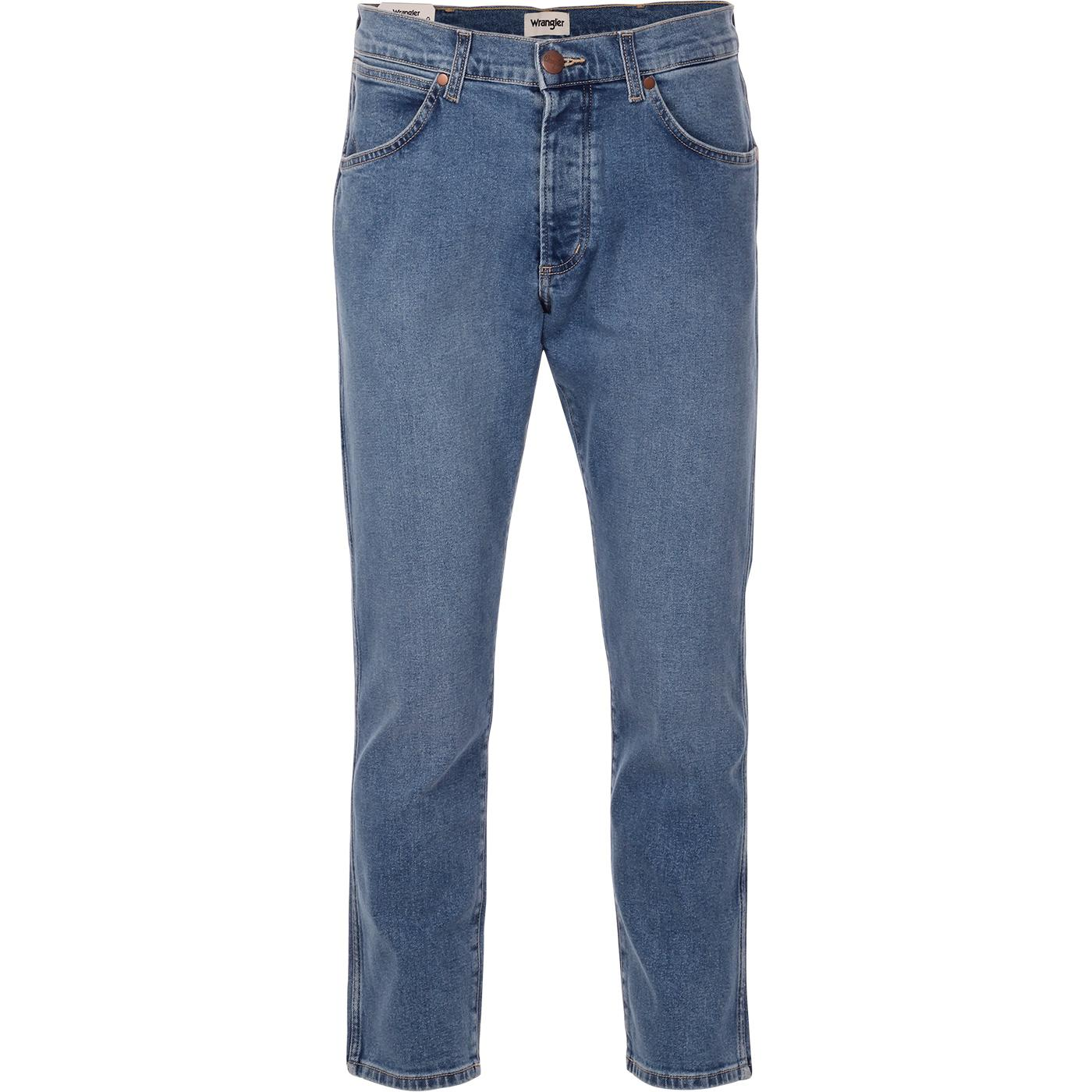 Slider WRANGLER Regular Taper Jeans (Blue Stones)