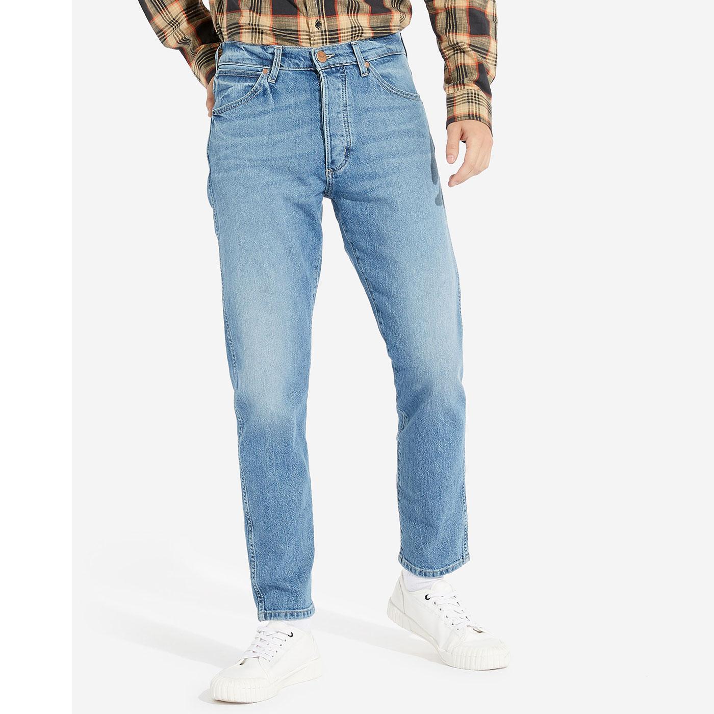 Slider WRANGLER Regular Tapered Stonewash Jeans
