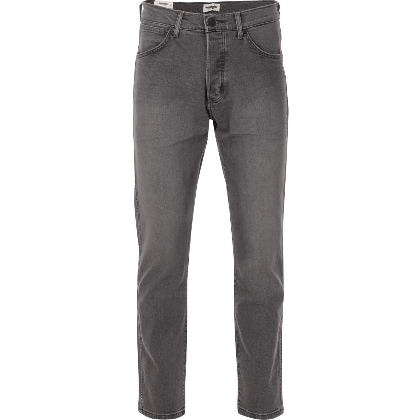 Slider WRANGLER Regular Taper Top Dog Jeans GREY
